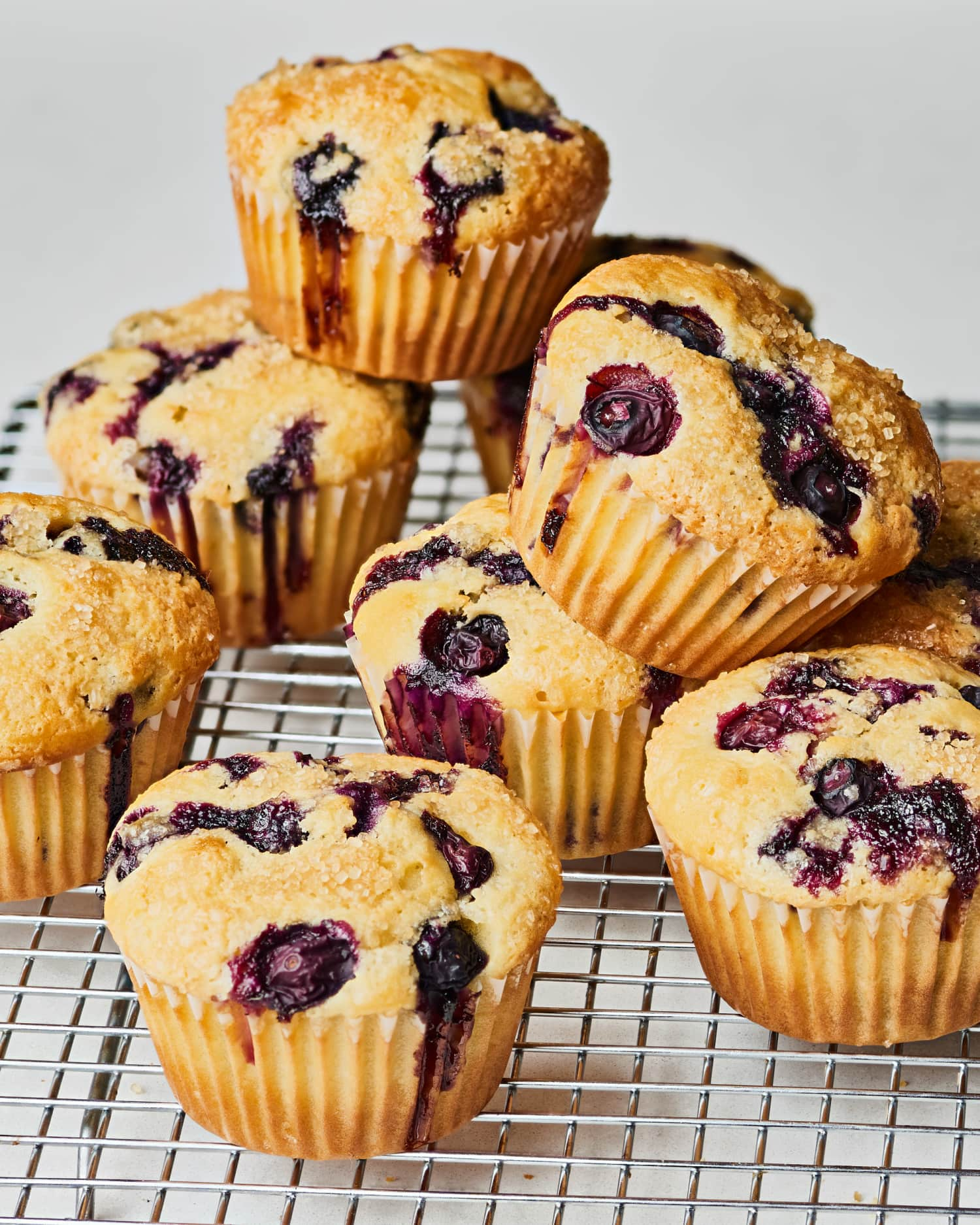 How To Make the Best, Easiest Blueberry Muffins