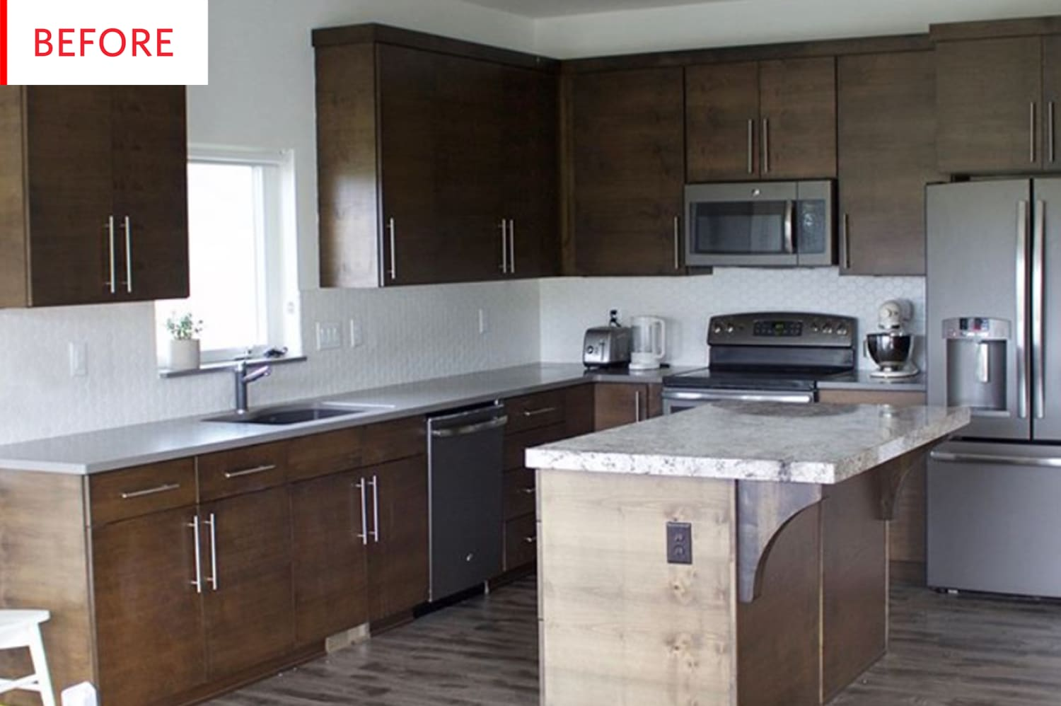 Before and After: We Could Not Have Predicted This Kitchen's Paint Job