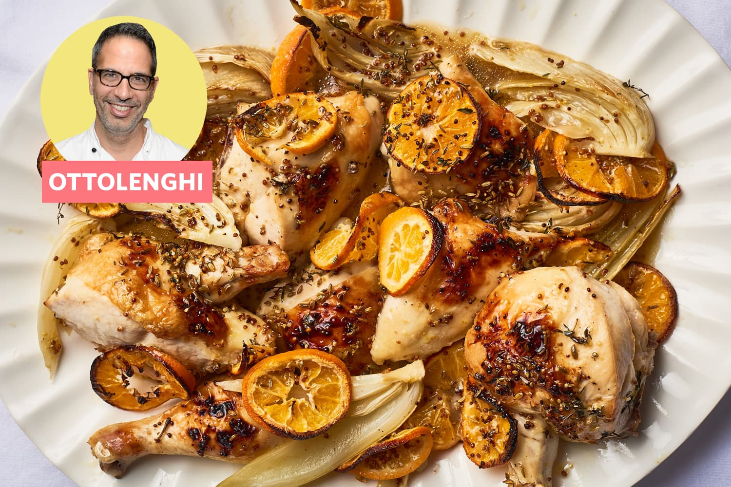 This Glorious Ottolenghi Chicken Is Secretly the Easiest Sheet Pan Meal (But Fancy Enough for Any Occasion)