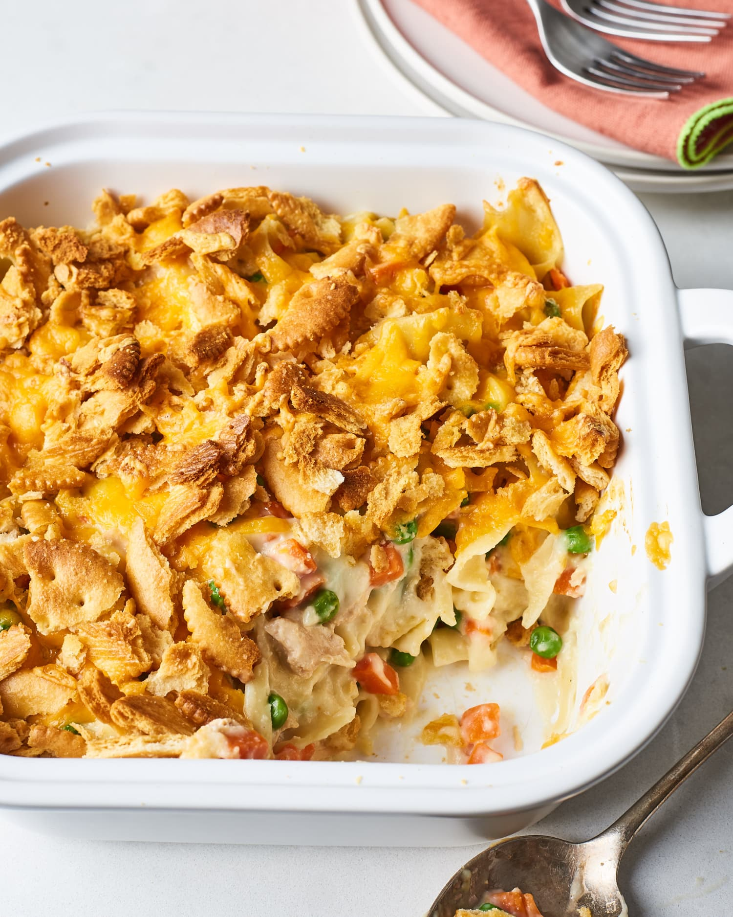 How To Make the Very Best Tuna Casserole from Scratch
