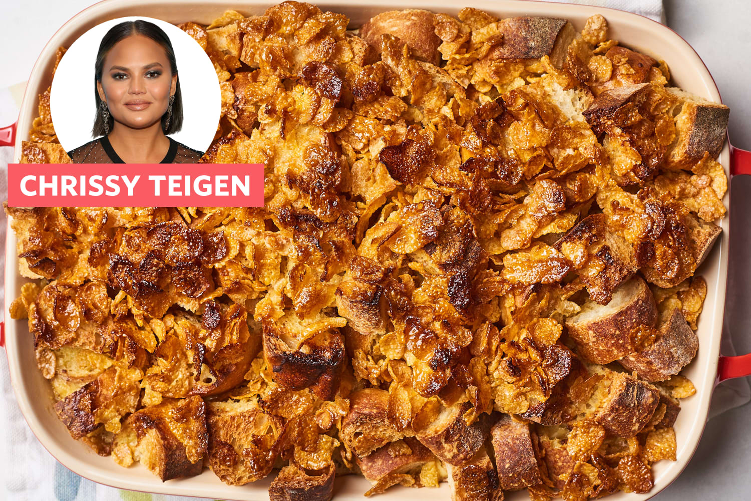 Chrissy Teigen's Twist on French Toast Will Make You Feel Like a Kid Again