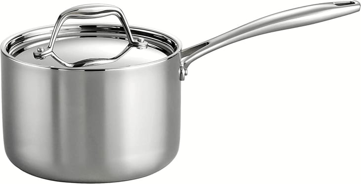 Product Image: Tramontina Gourmet Tri-Ply Clad 2-Quart Covered Sauce Pan