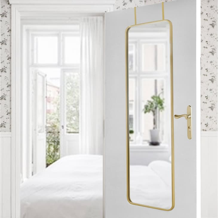 9 Surprisingly Chic Over The Door Mirrors Apartment Therapy