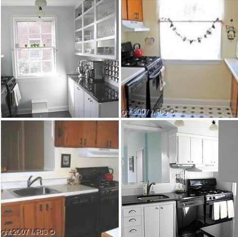Before & After: A Modest Galley Kitchen Makeover | Apartment Therapy