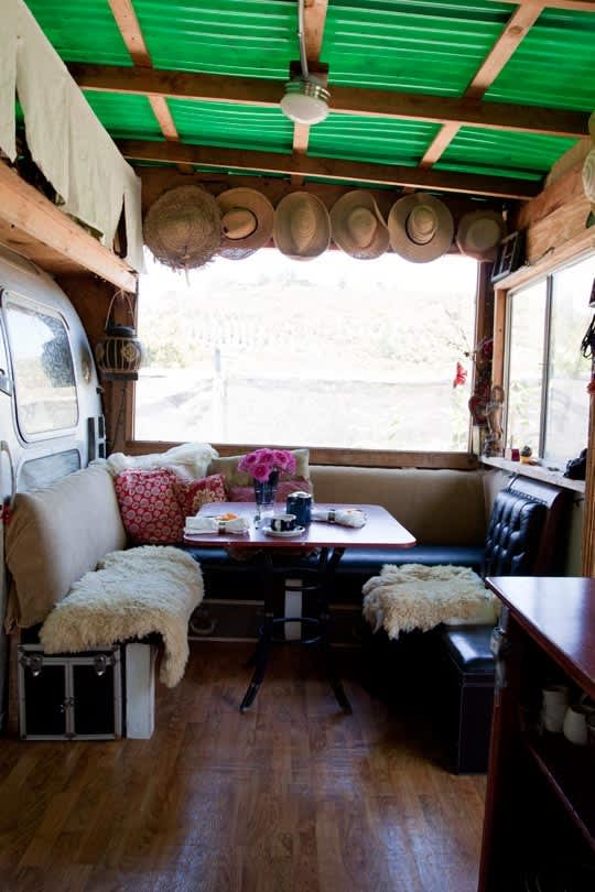 House Tour: An Unbelievable Airstream Trailer Home | Apartment Therapy