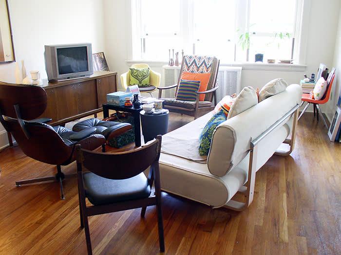 Drew's Vintage Bohemian View | Apartment Therapy