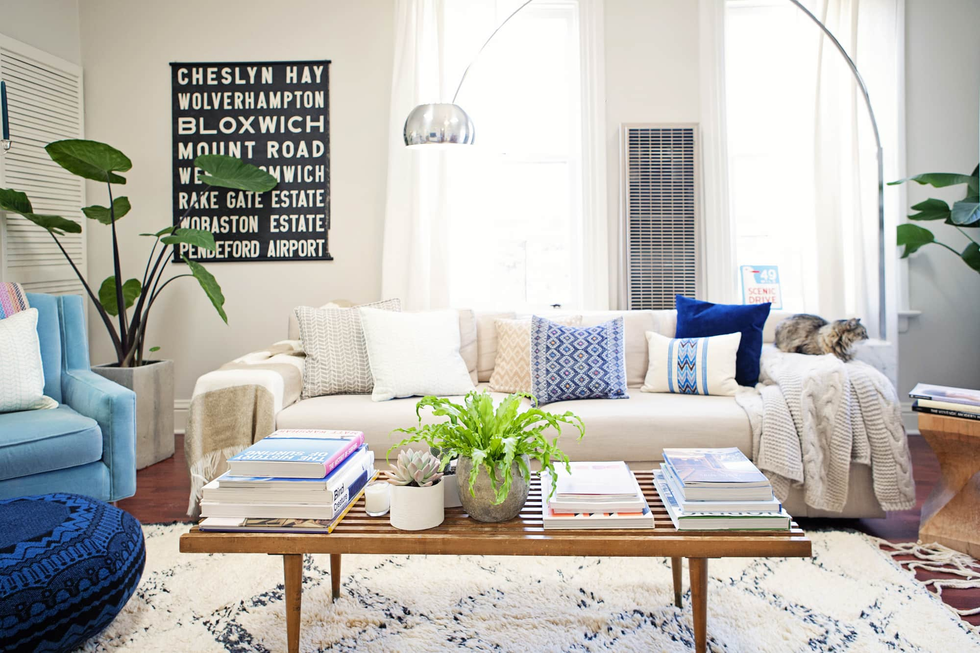 Eclectic Decor Bohemian Apartment Therapy