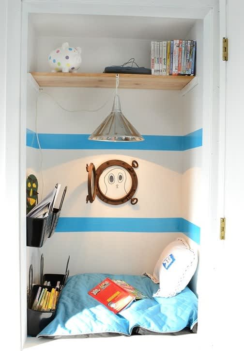Kids Closets Used As Reading Nooks Apartment Therapy