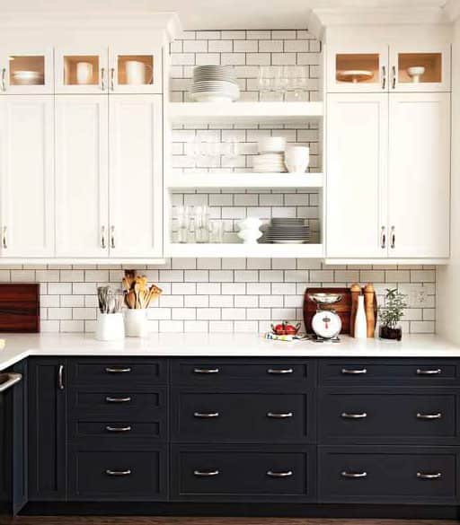 In the Mix: 20 Kitchens with a Combination of Cabinets and ...