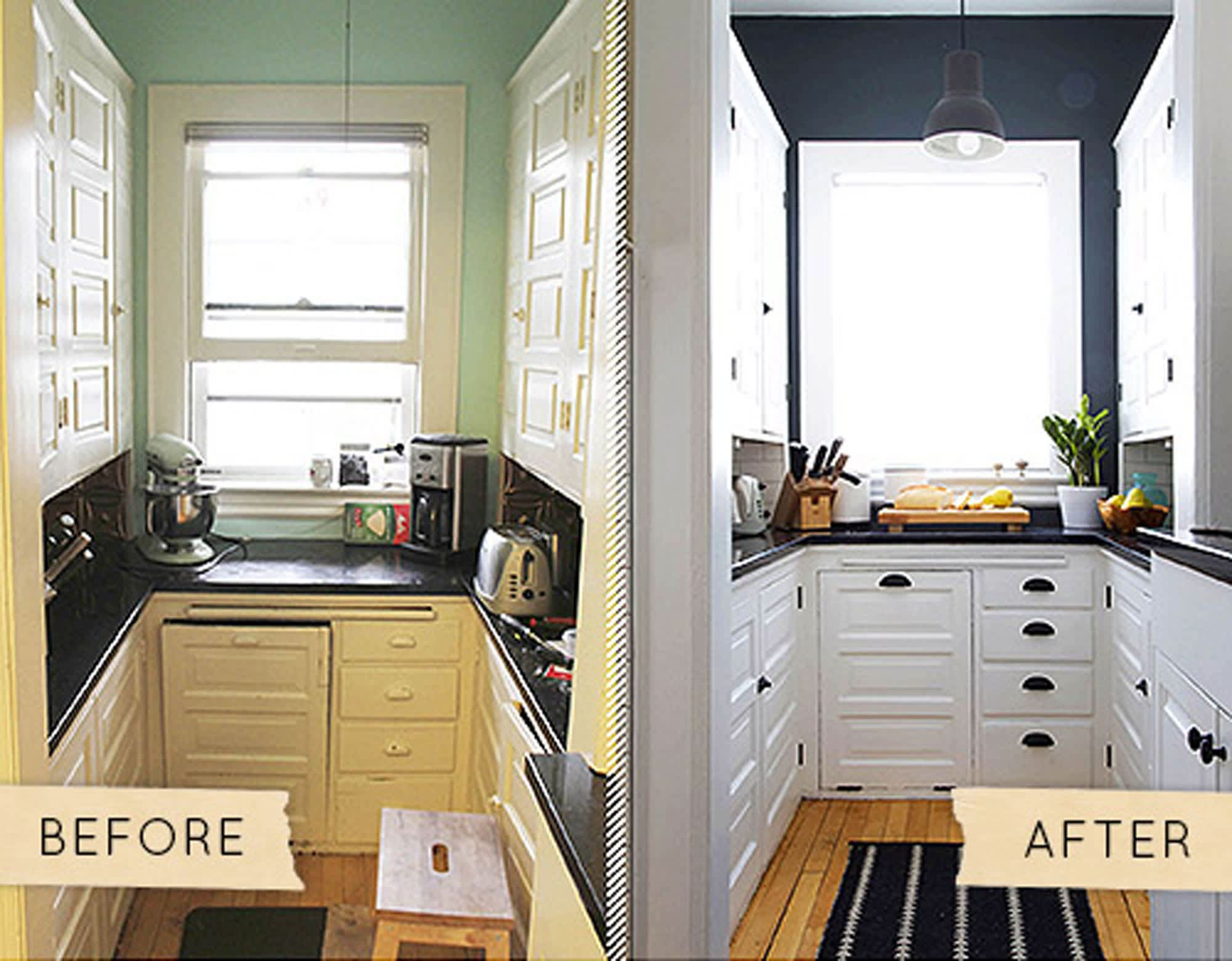 Style Makeovers: Dated Kitchens Refreshed Without Renovating ...