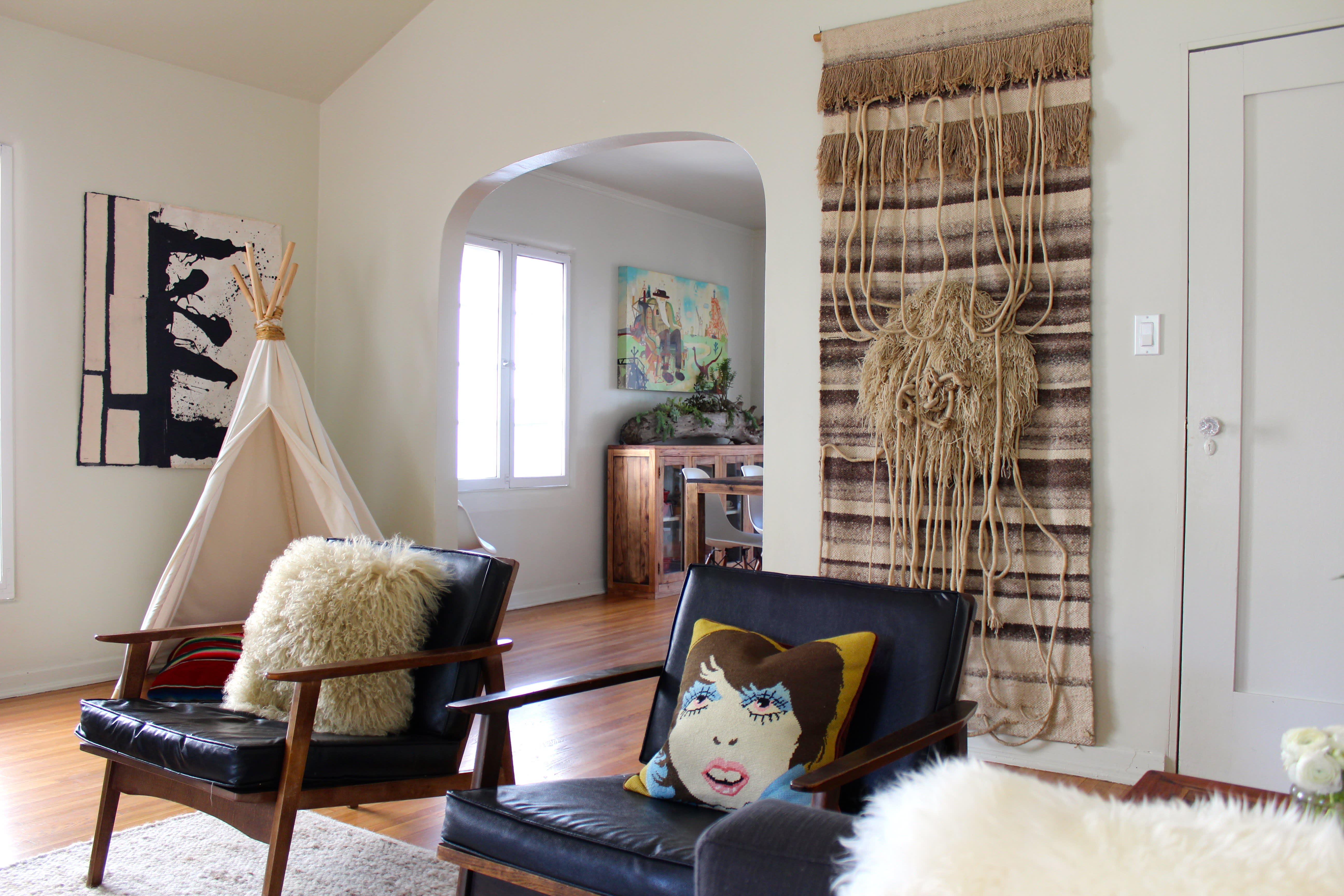Carrie Hal S Modern Bohemian Home Apartment Therapy