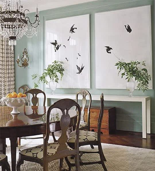 Dining Room Art: Big Appetite: 20 Dining Rooms With Large Scale Art