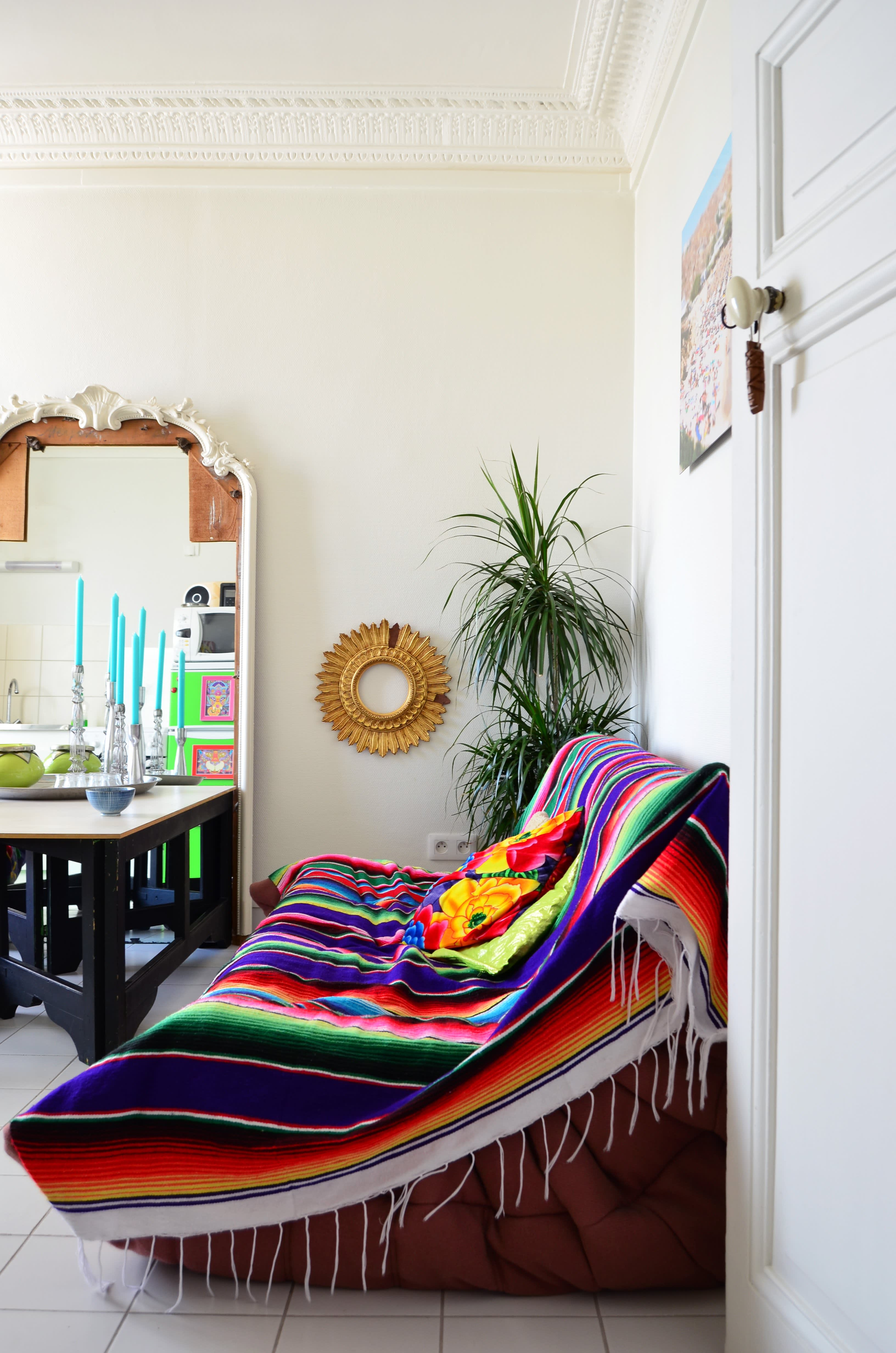 Decor Detail: Mexican Blankets | Apartment Therapy