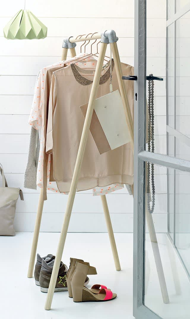10 Stylish Diy Clothing Racks Apartment Therapy