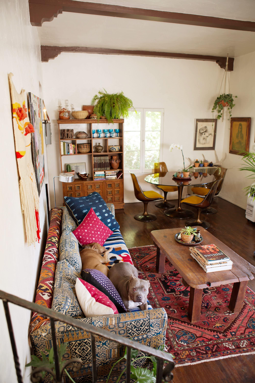 House Tour: A Silver Lake Bohemian Bungalow | Apartment ...