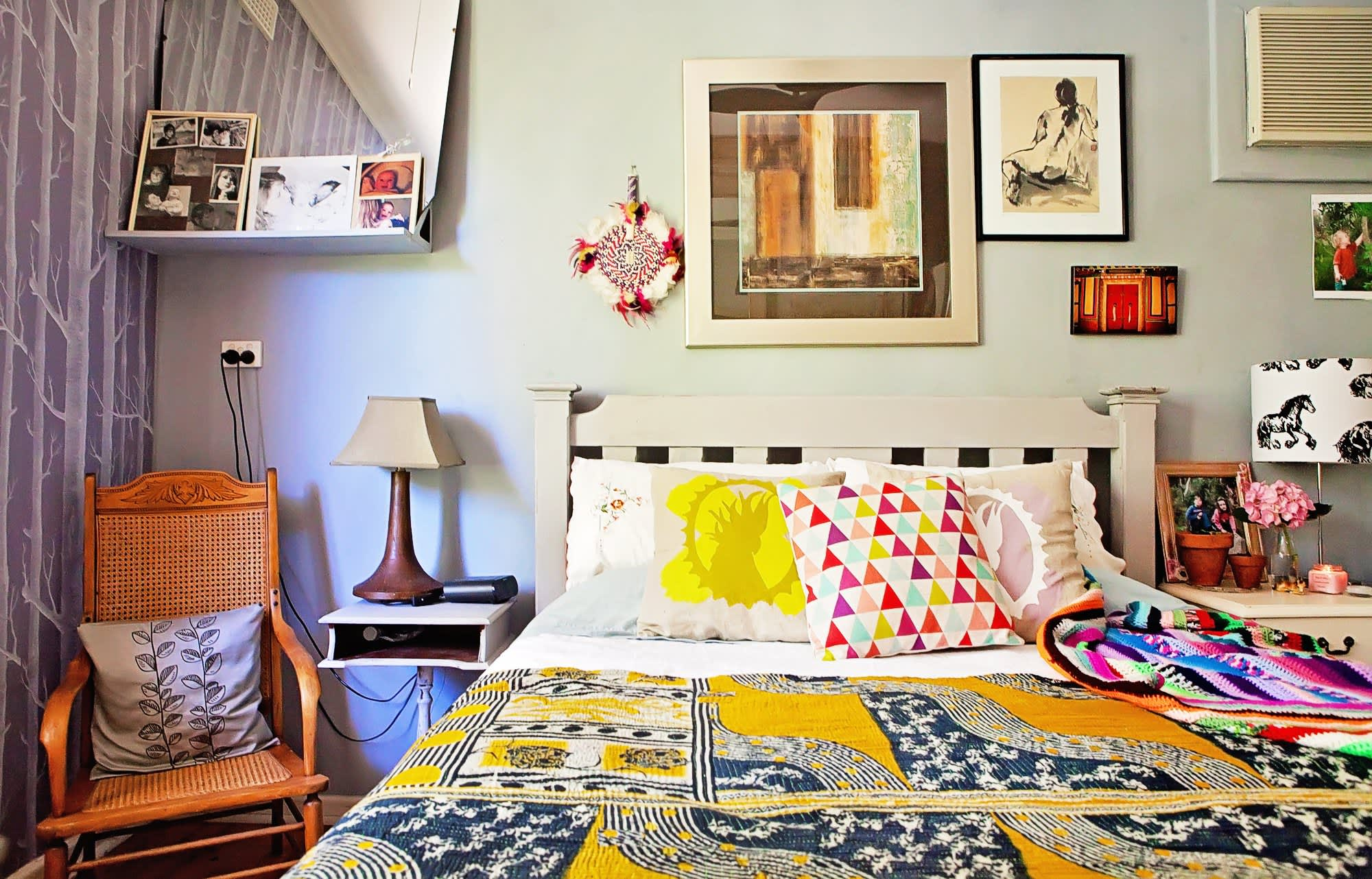 helen s eclectic boho haven apartment therapy