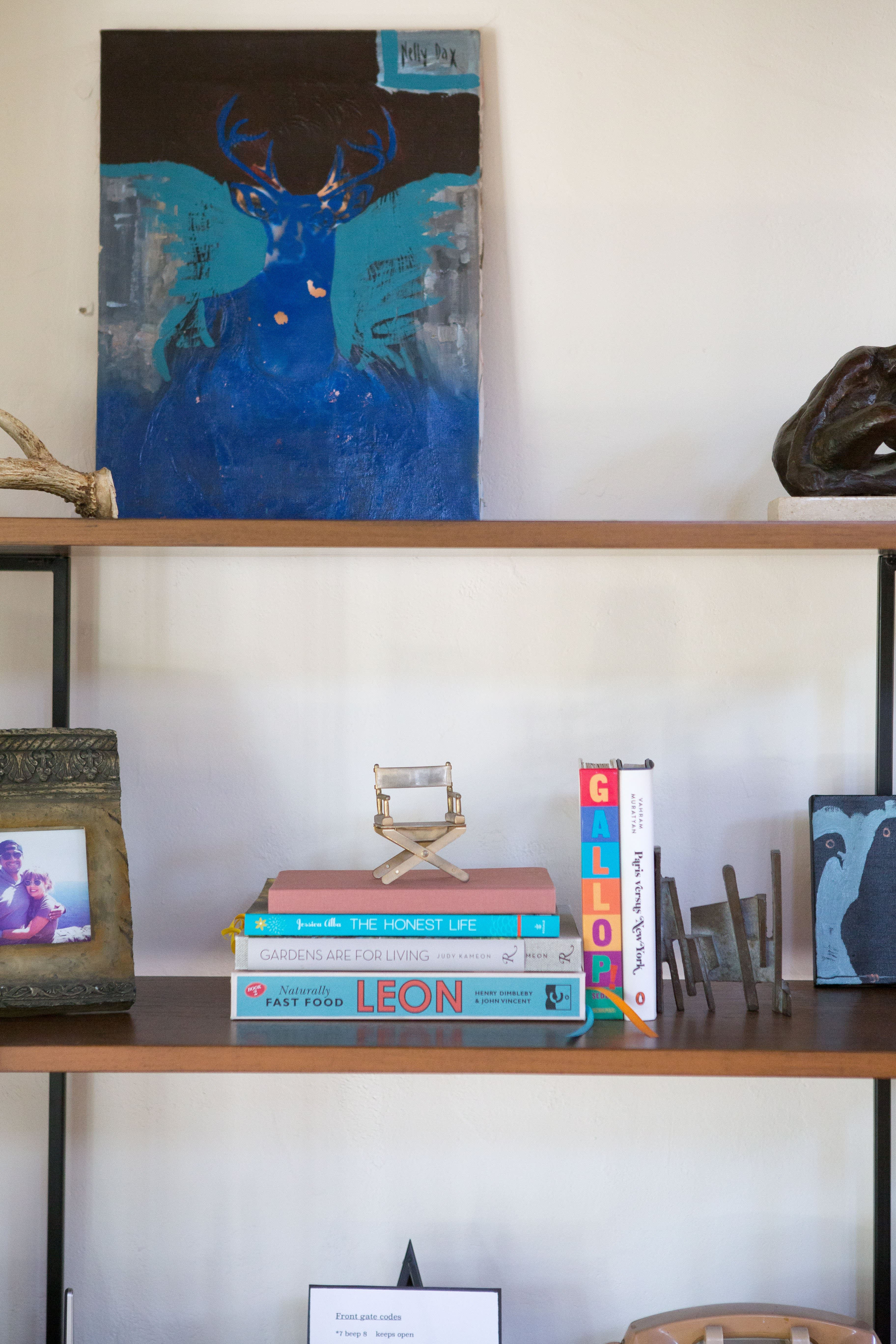 House Tour: An Eclectic Hillside Home in Silver Lake