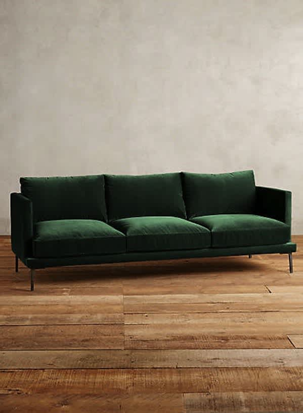 Excellent A Guide To Green Sofas 20 Stylish Options Apartment Therapy Pdpeps Interior Chair Design Pdpepsorg