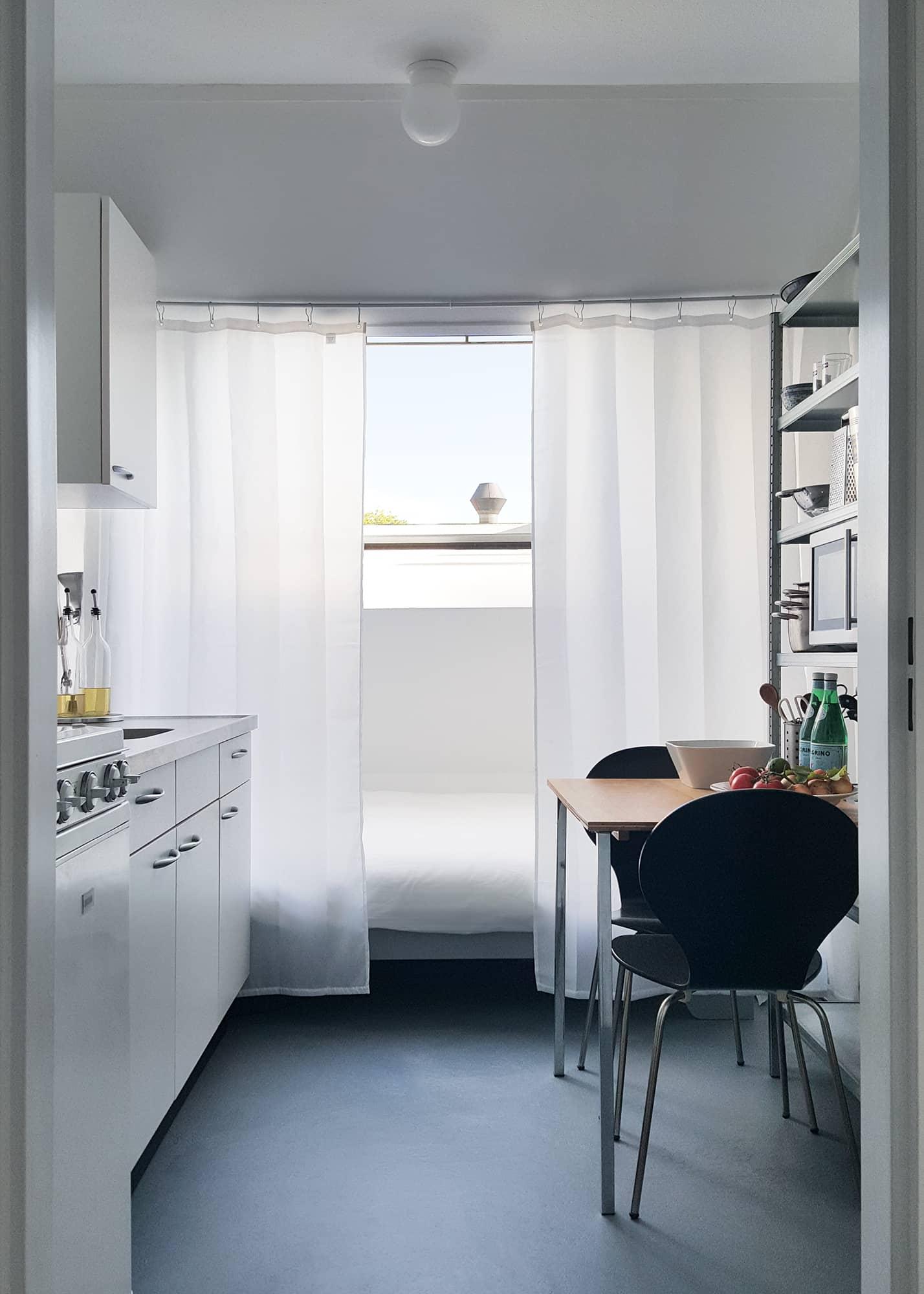 House Tour: A Modern, Minimal Amsterdam Studio | Apartment Therapy