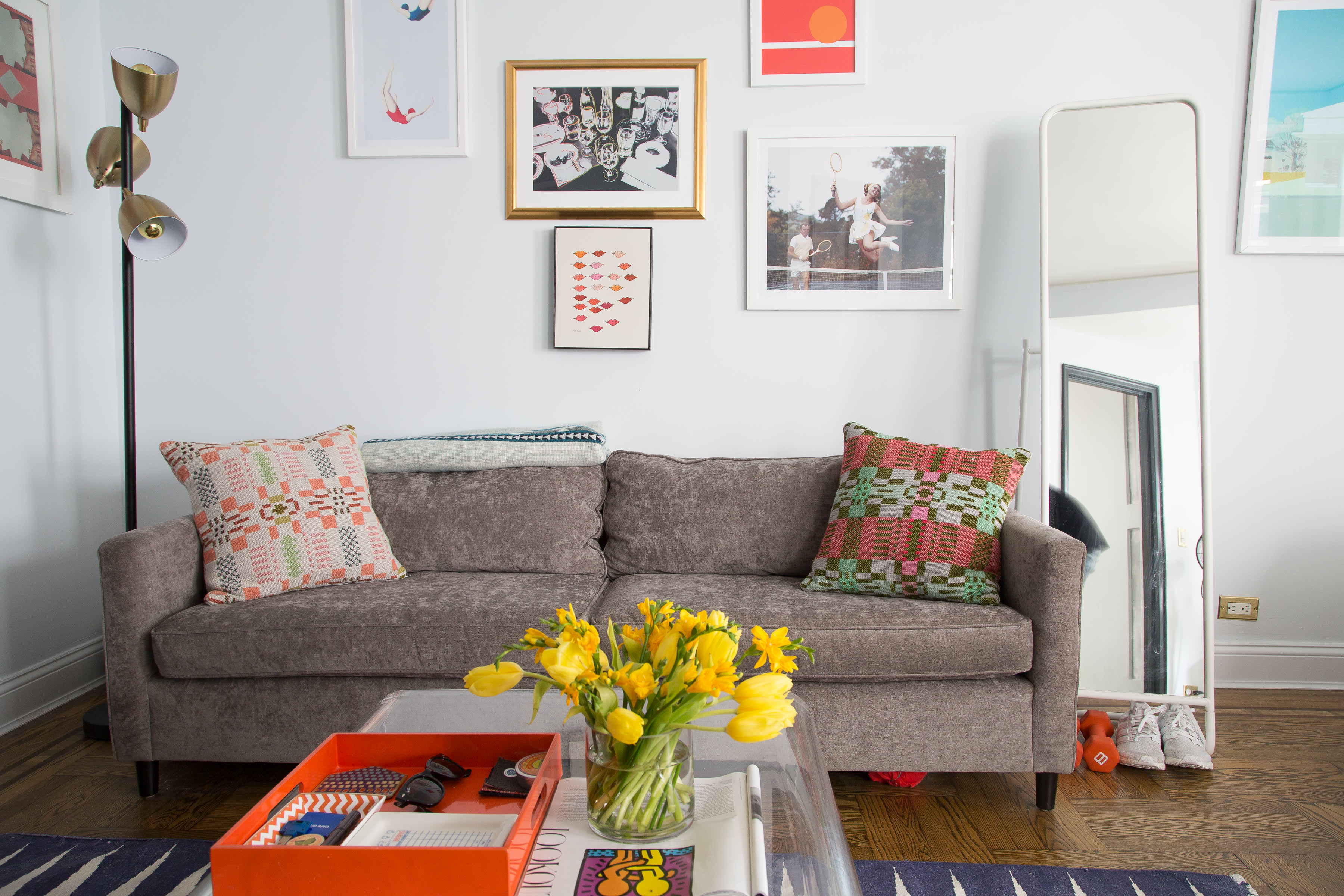 House Tour: A Colorful 450 Square Foot NYC Studio ... on 1600 square foot open floor plan, 450 square feet banquet room, 500 sf apartments floor plan, ikea 400 sq ft floor plan, 480 square foot floor plan, 450 square feet office, 1 bedroom 850 sq ft floor plan, 450 square foot apartment, 1250 square foot floor plan, 525 square foot apartment floor plan, 576 square foot floor plan, 450 square foot house, desk floor plan, four square floor plan, 450 square feet studio apt, 600 square foot house floor plan, 9 square floor plan, 450 square foot homes, 350 sq ft floor plan,