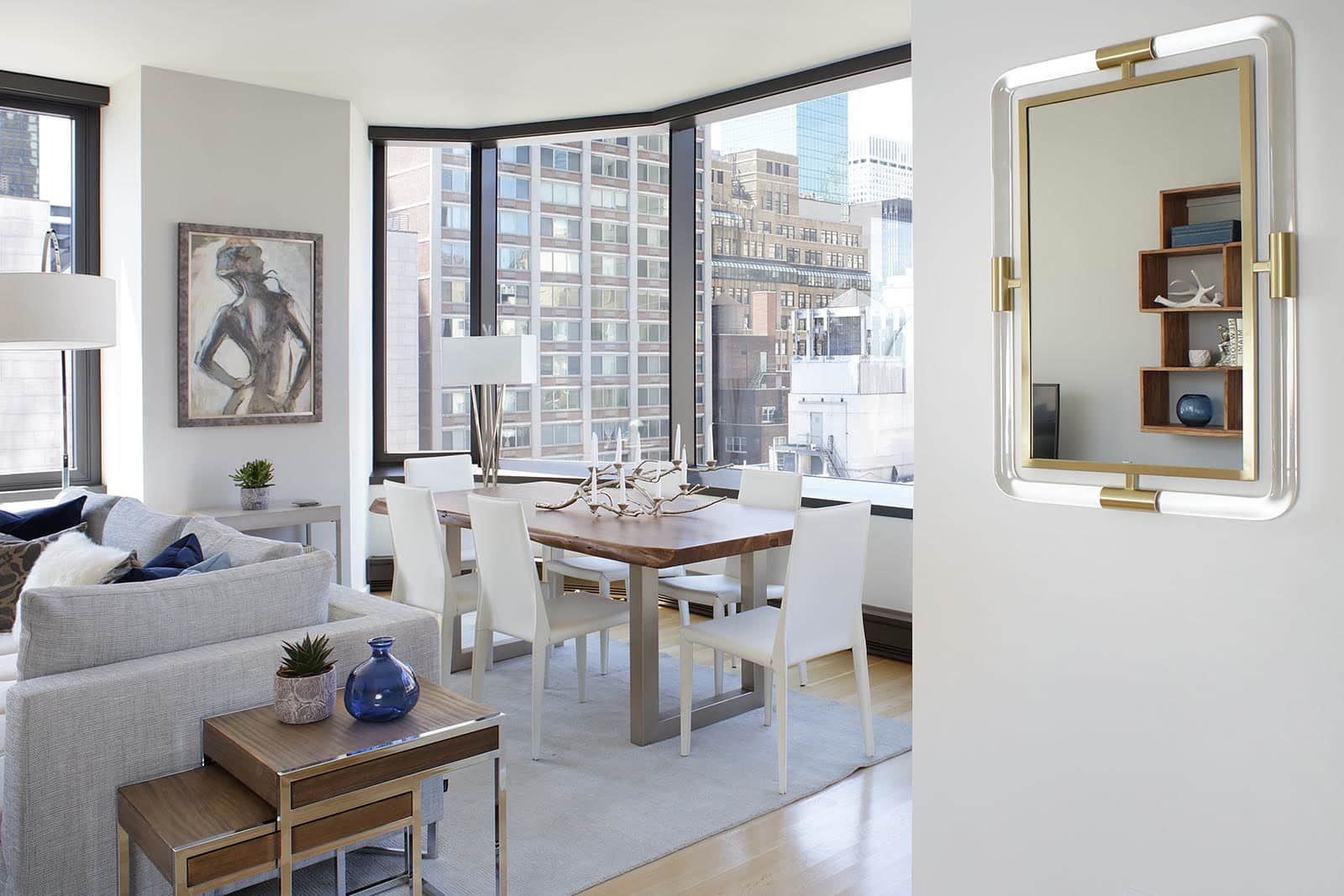 An Actor\'s Modern New York Apartment Gets Warmed Up ...