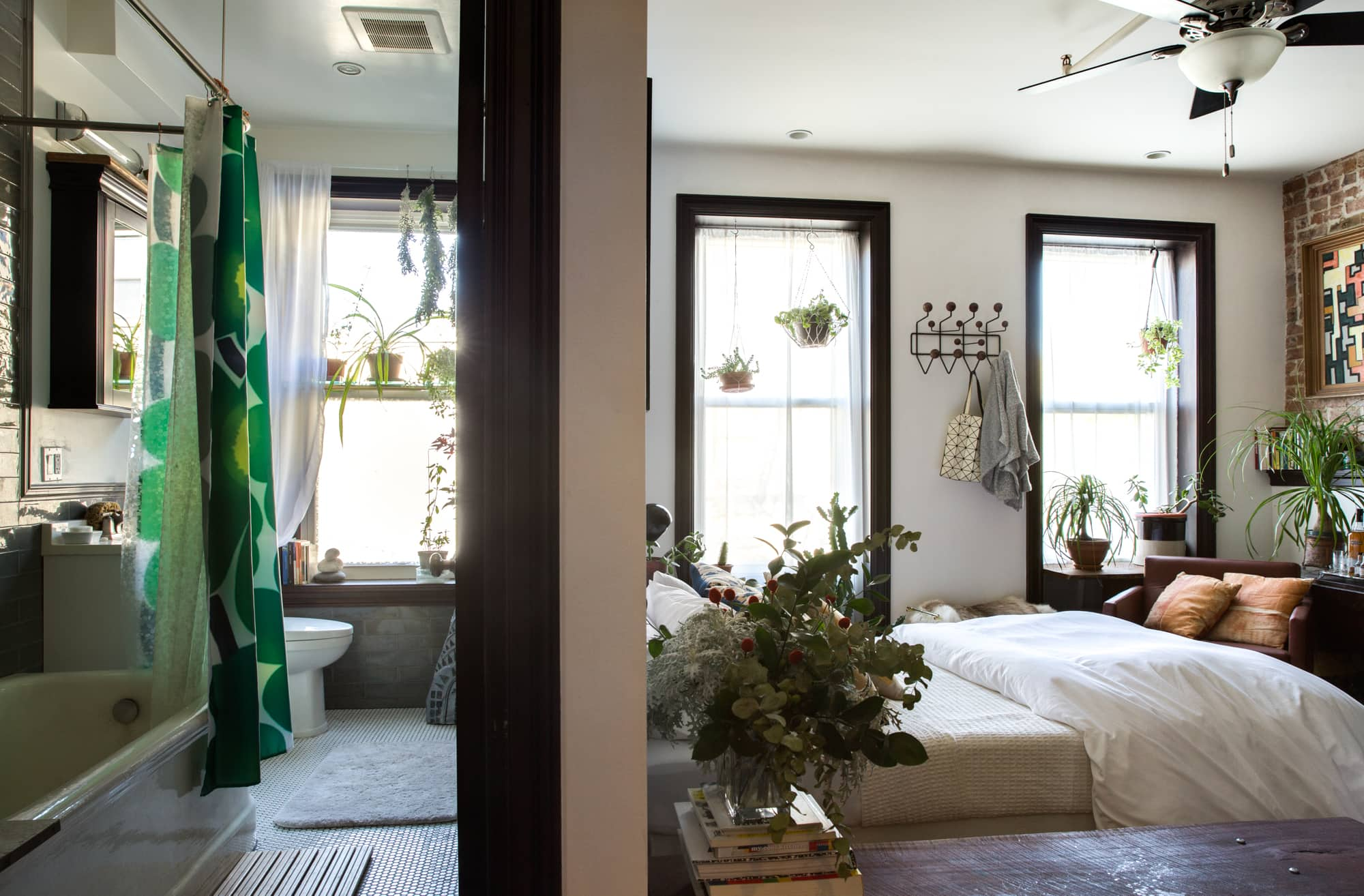 House Tour: A 280 Square Foot Brooklyn Studio Apartment