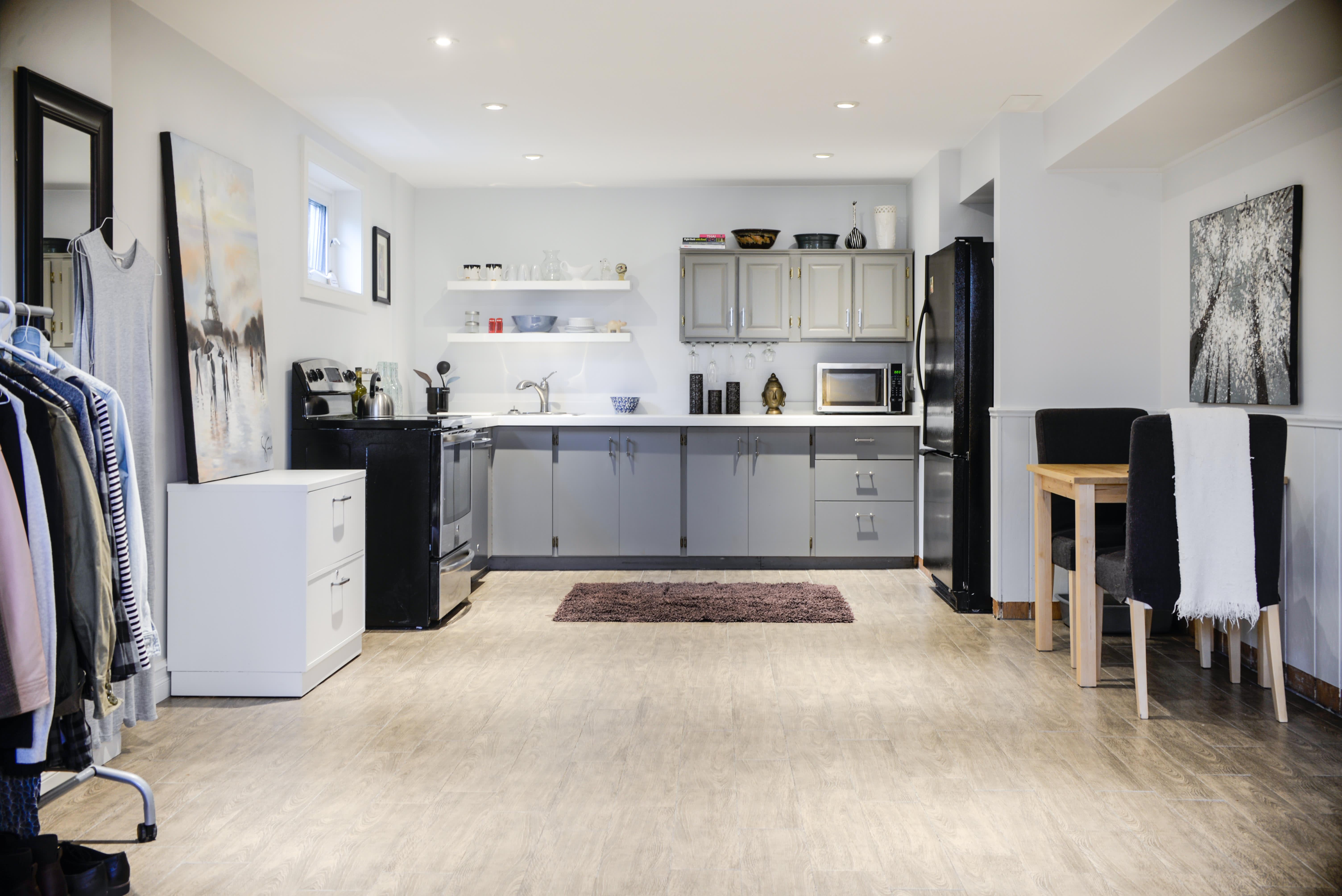 House Tour A Small Minimal Basement Studio Apartment