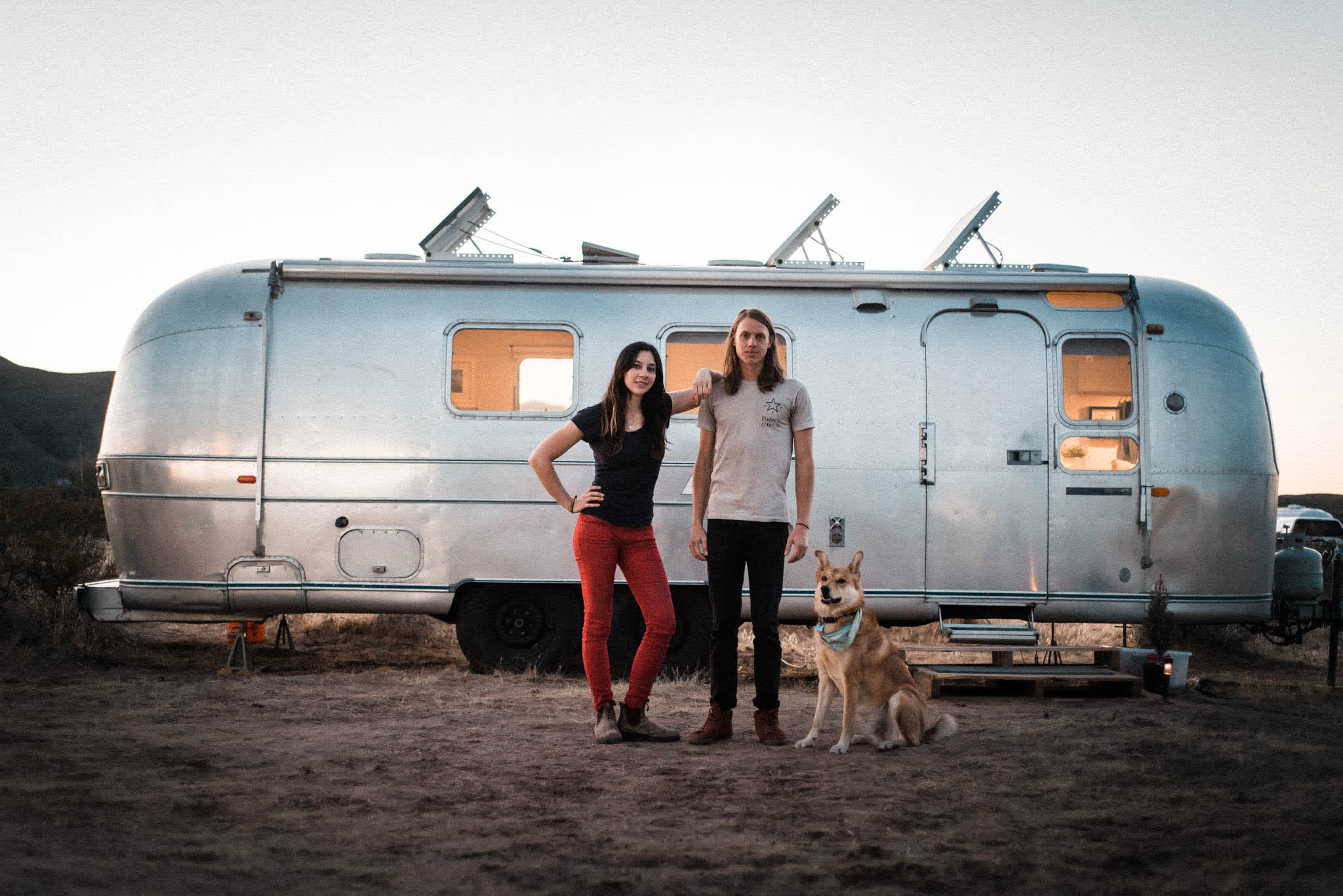 Tiny Home Tour: DIY Remodel of a '72 Airstream Trailer | Apartment