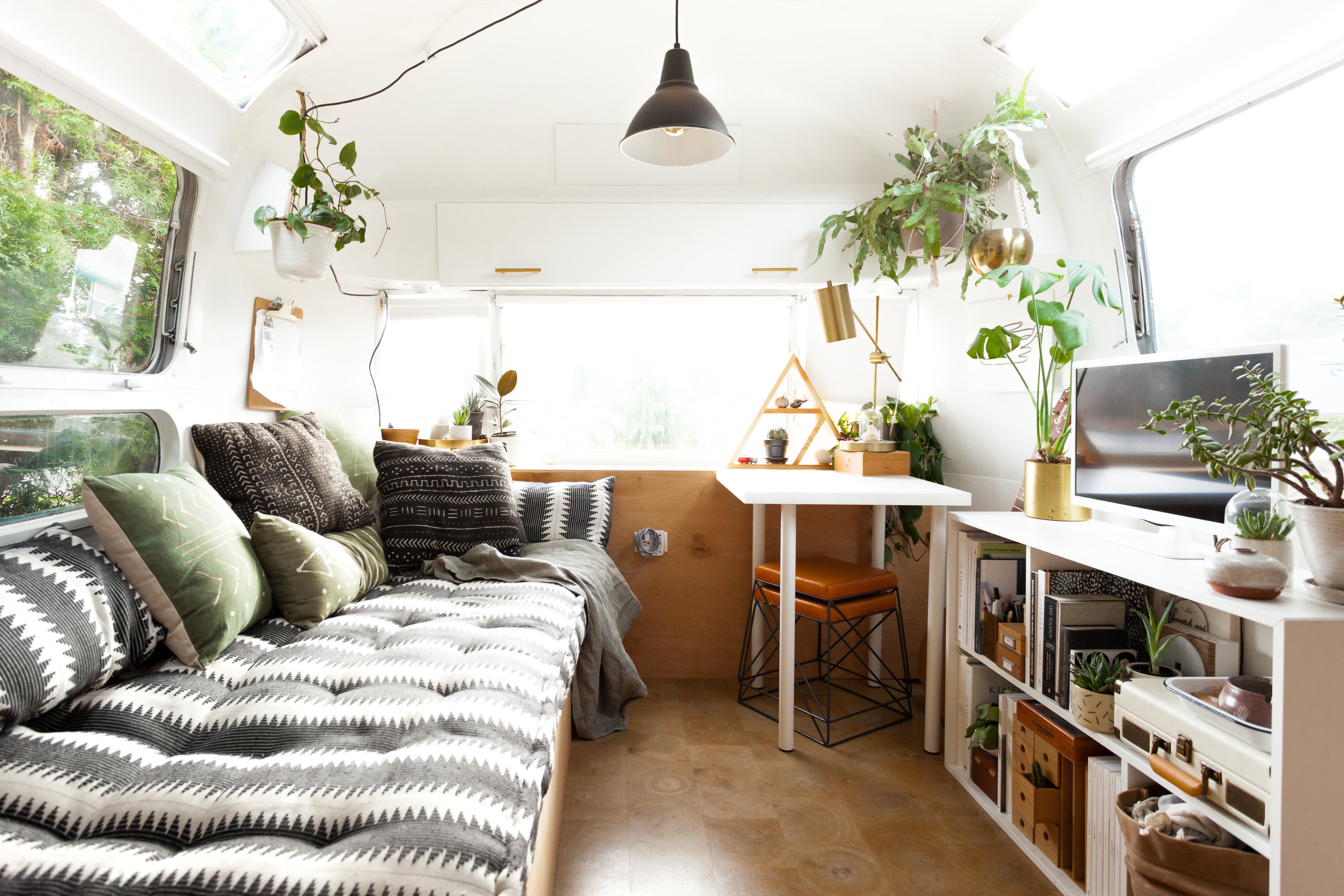 Tour: Vintage Airstream Gets a Scandinavian Style Remodel