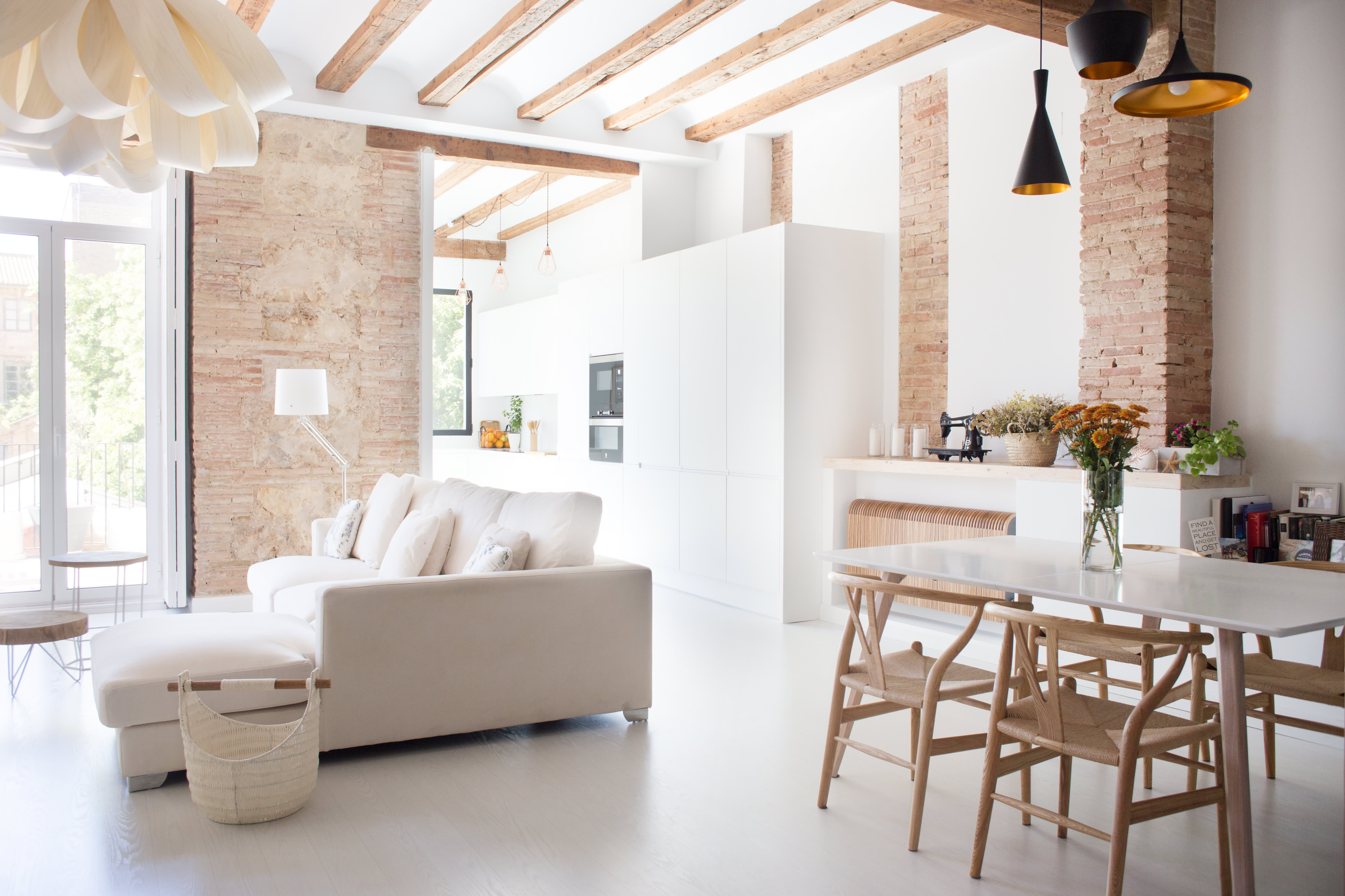A Renovated Spanish Home With Beautiful Tiled Floors
