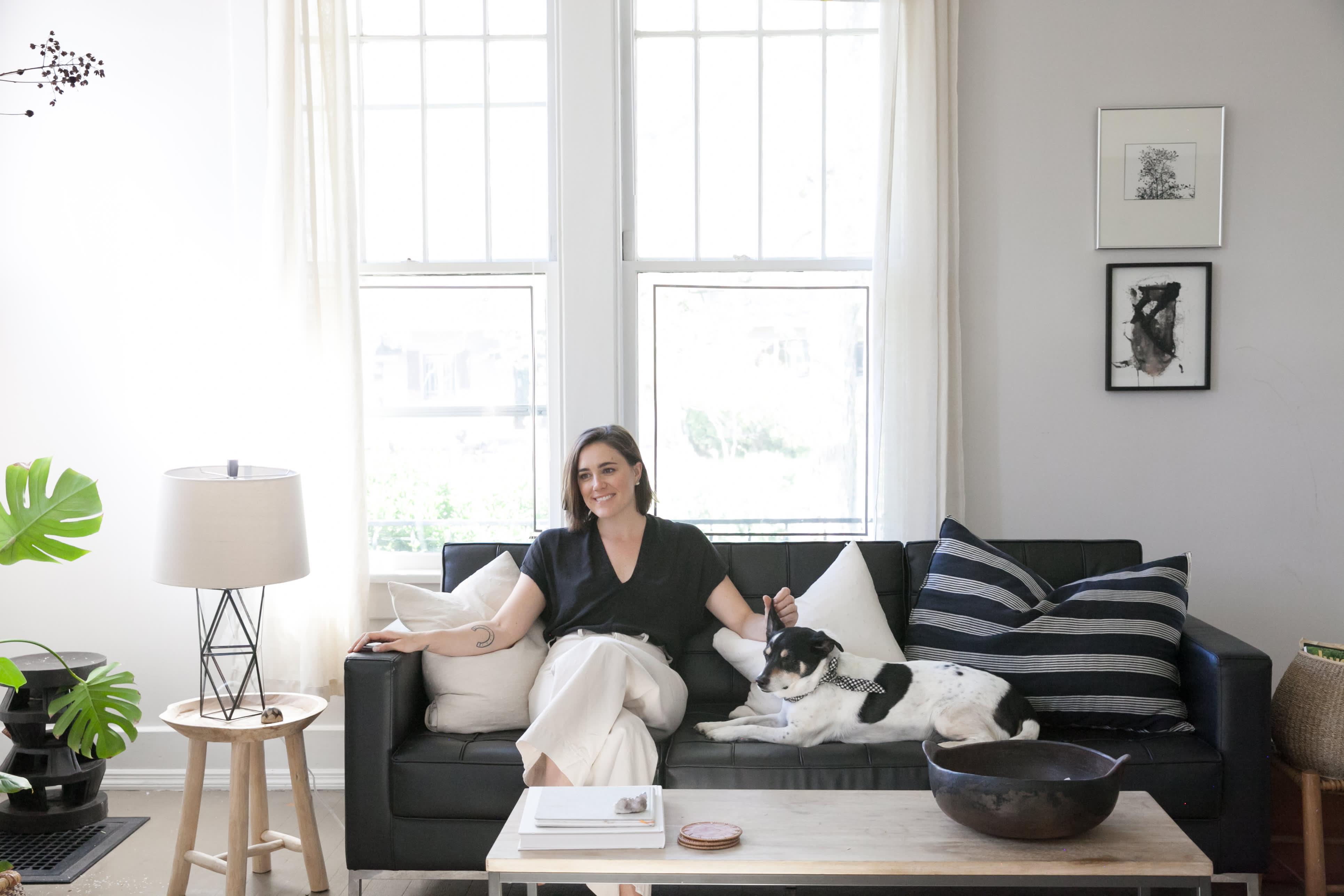 House Tour: A Simple Chic Nashville Rental Home | Apartment