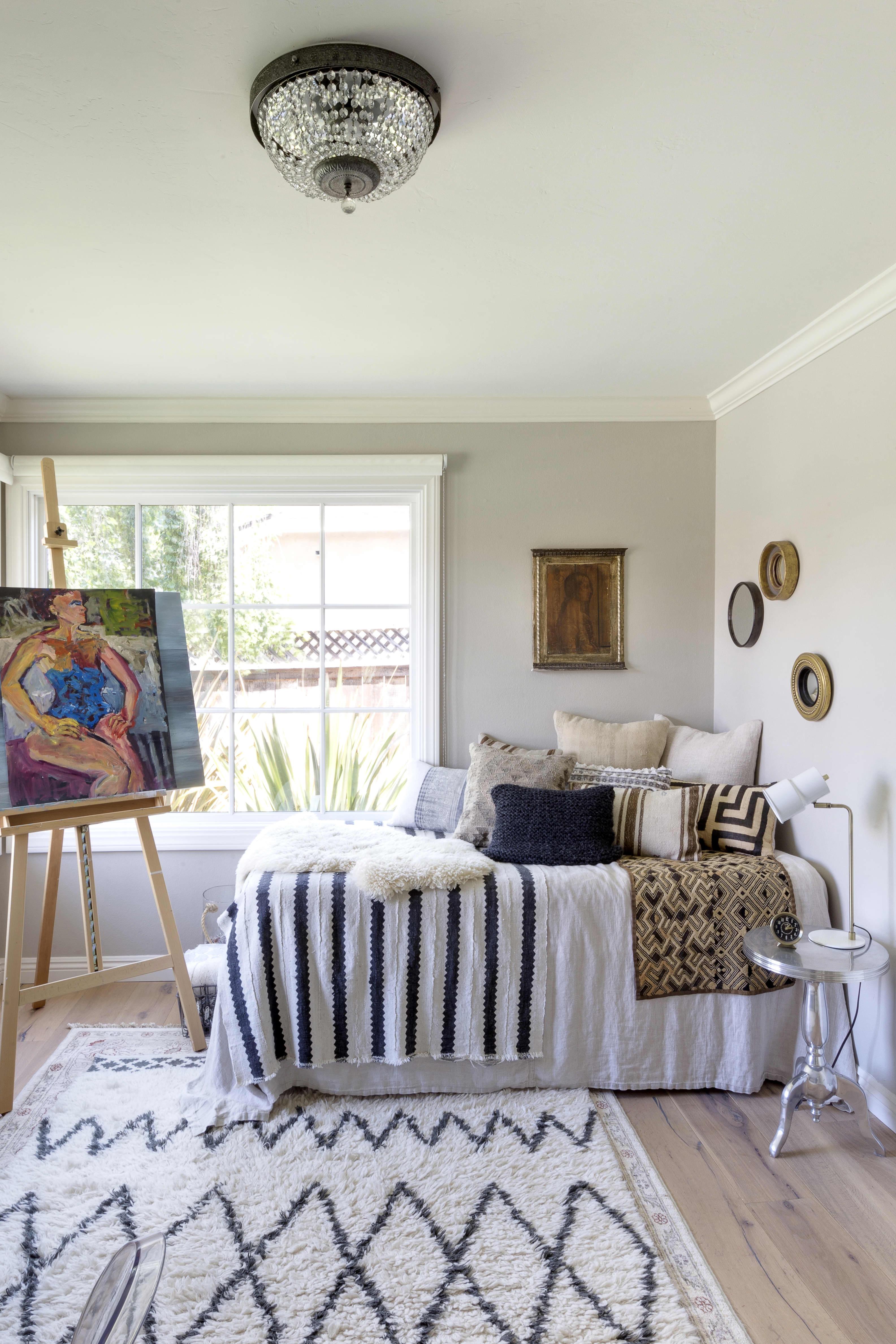 House Tour An Interior Designers Euro Eclectic Home