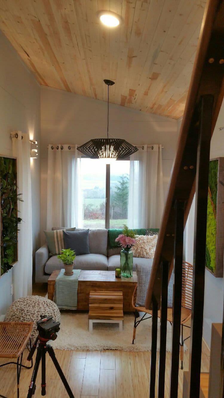 Two Tiny Houses Combined - Ohana Double Build Photos