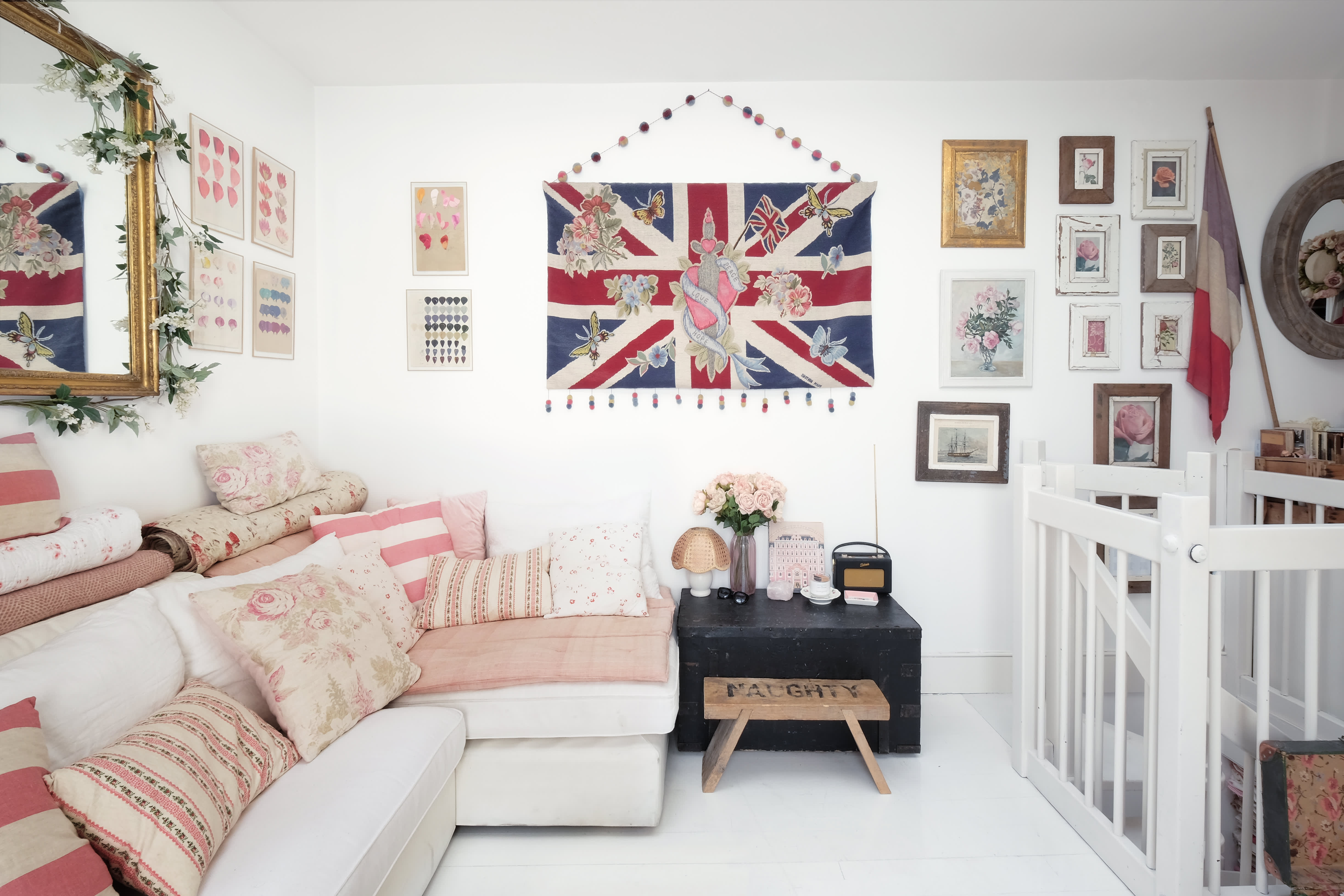 House Tour A Perfectly Pink Apartment In London