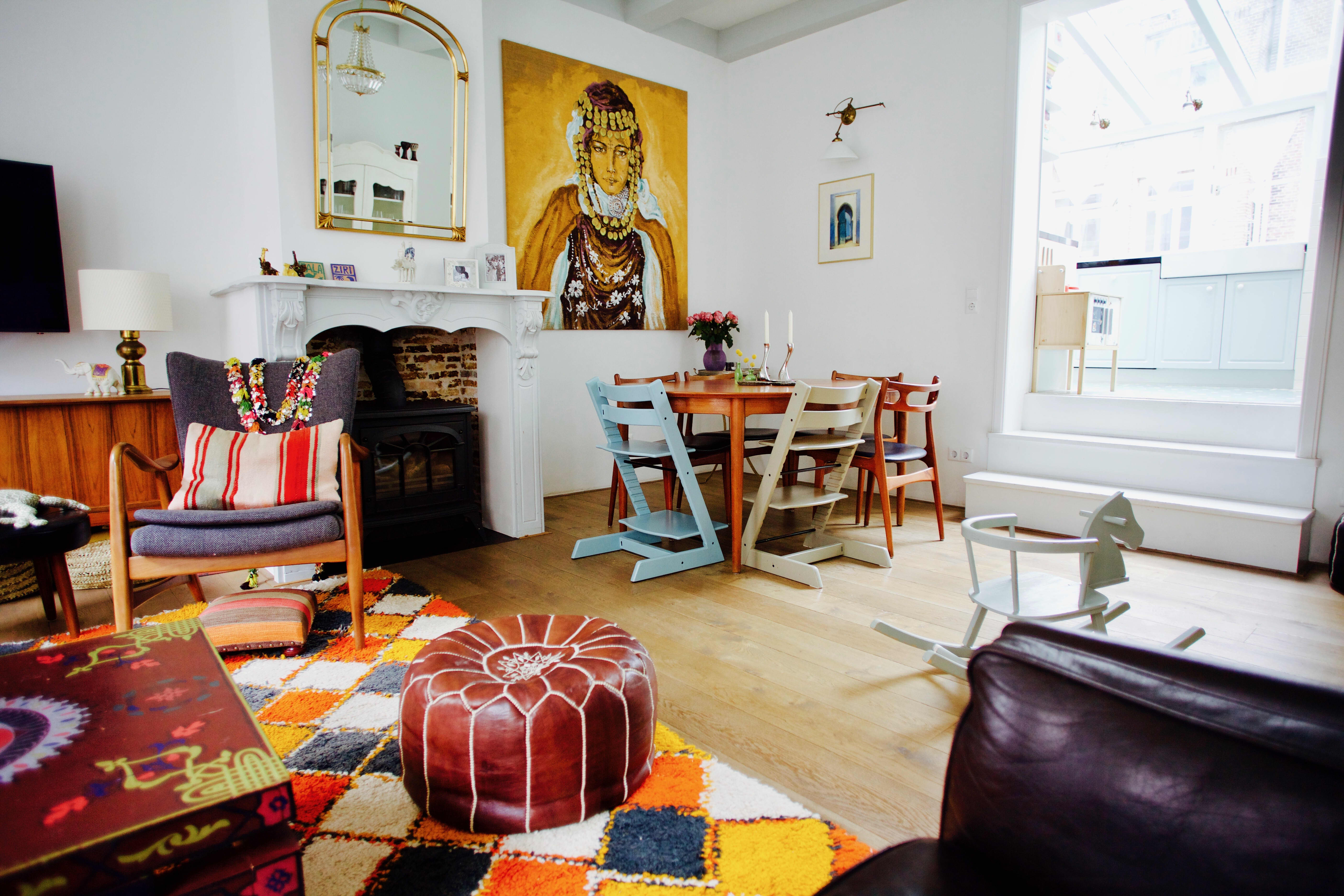 House Tour: A Moroccan-Inspired Amsterdam Home | Apartment ...