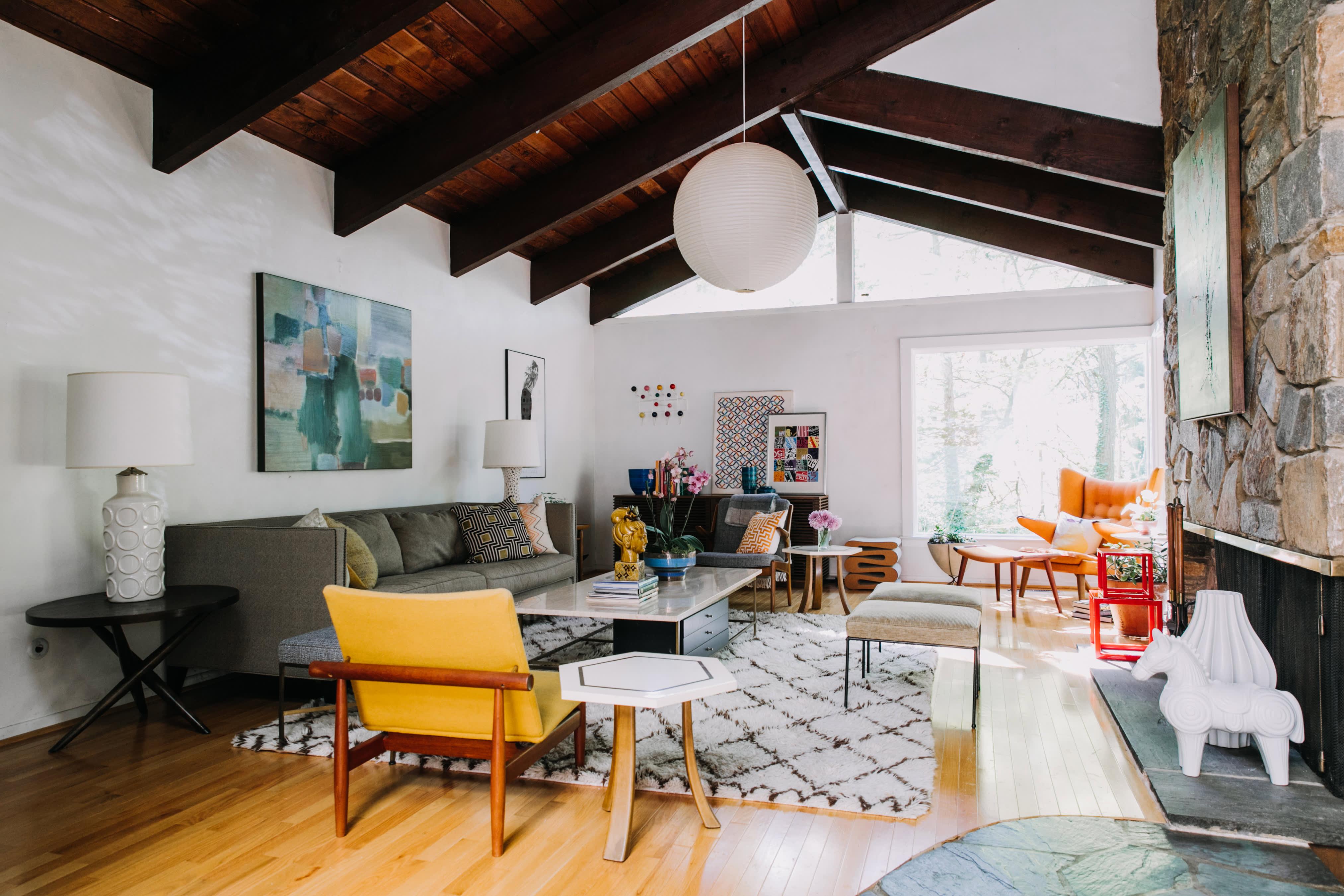 Enjoyable House Tour A Mid Century Modern Organic Delaware Home Ncnpc Chair Design For Home Ncnpcorg