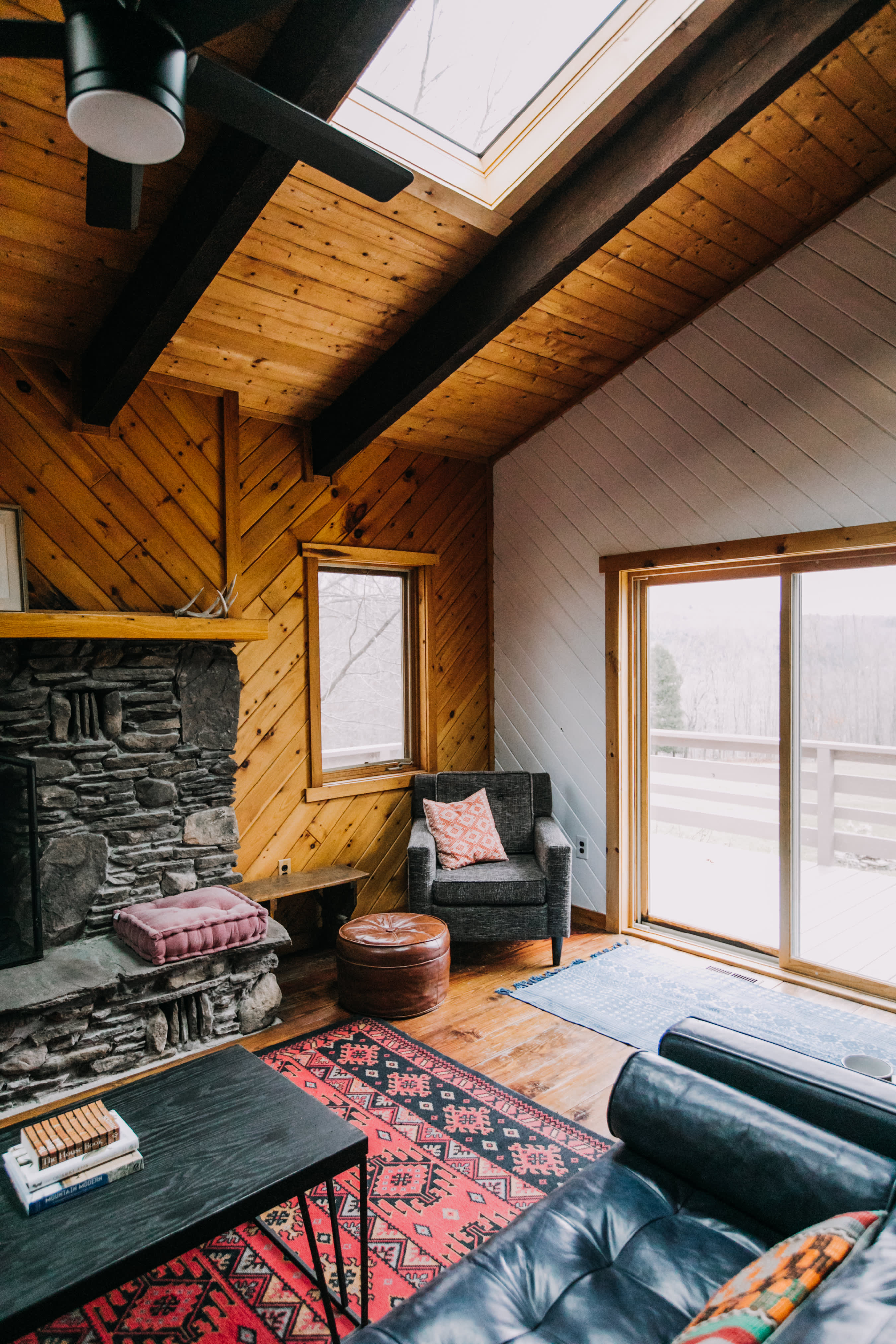 House Tour: A Cozy Mountain Cabin in the Catskills