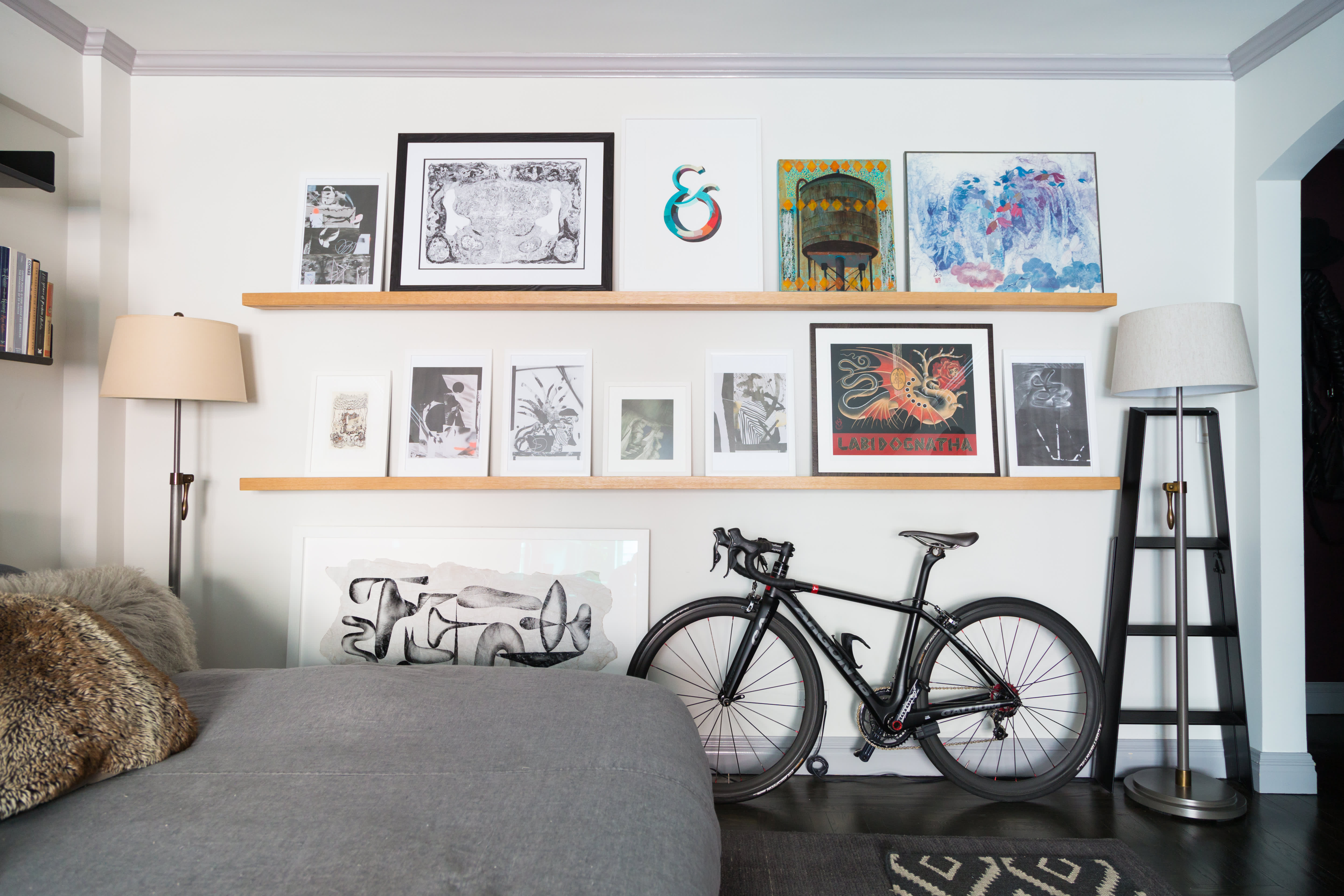 House Tour: An Artist's 450-Square-Foot Nyc Studio | Apartment Therapy