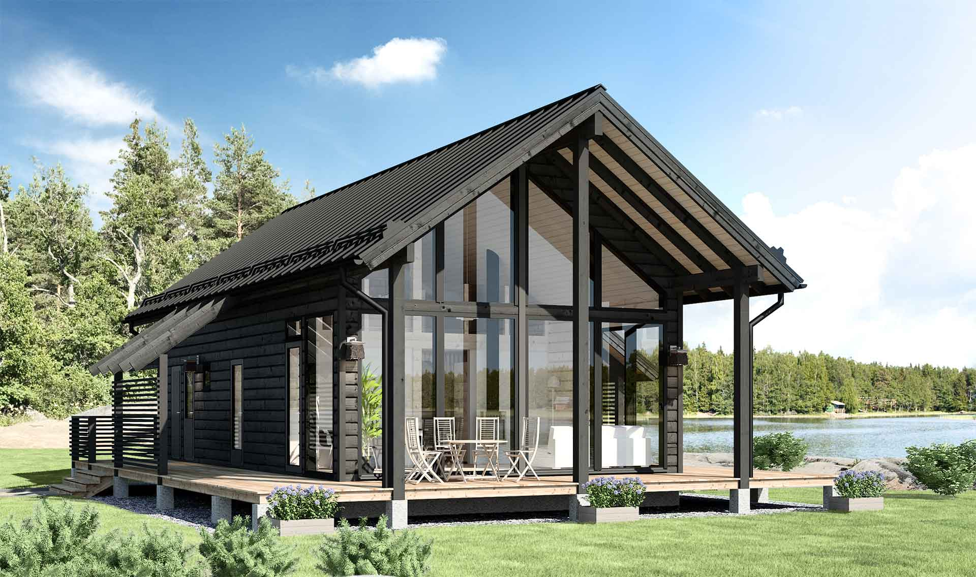 Finnish Prefab Log Cabins Photos | Apartment Therapy