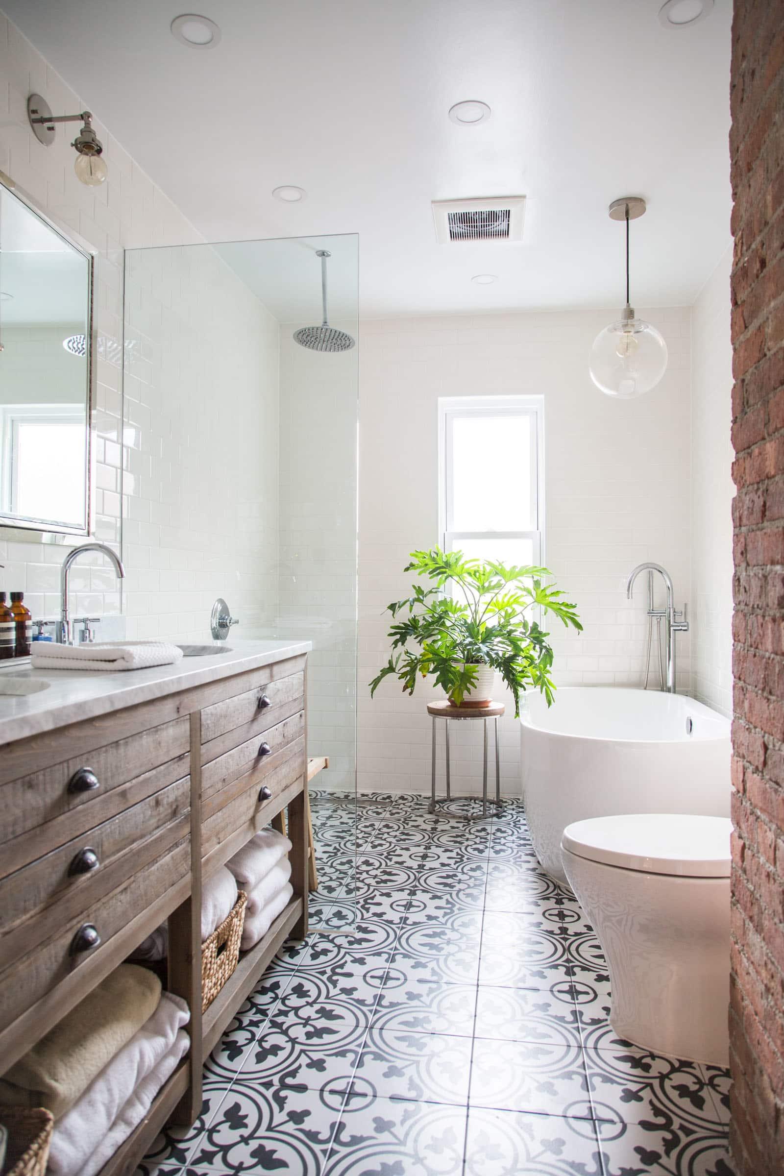 40 Grey Bathroom Floor Tile Ideas And Pictures Master Bathroom