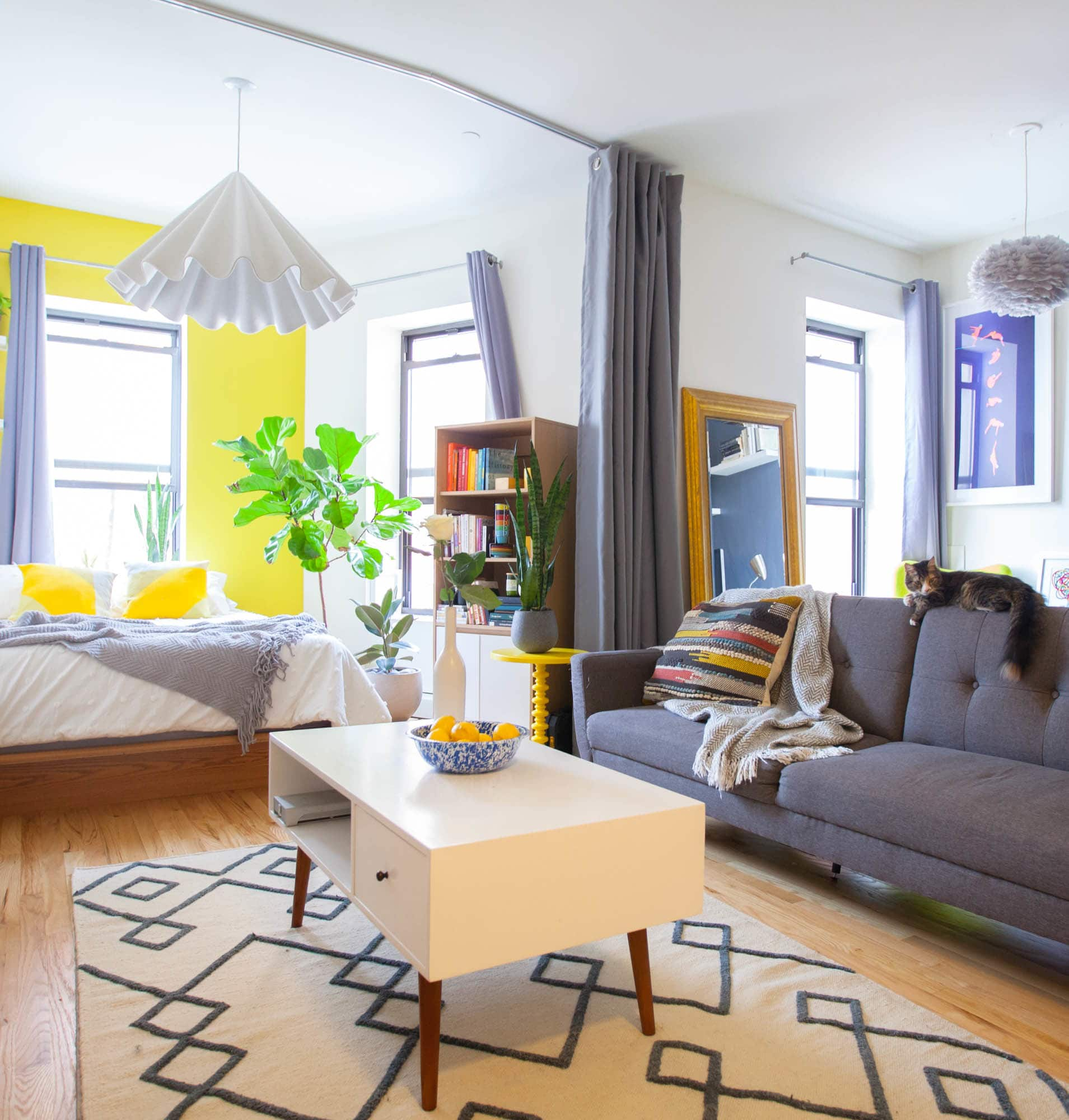 Studio Apartments In The Bronx: House Tour: A Bold, Colorful Bronx Studio