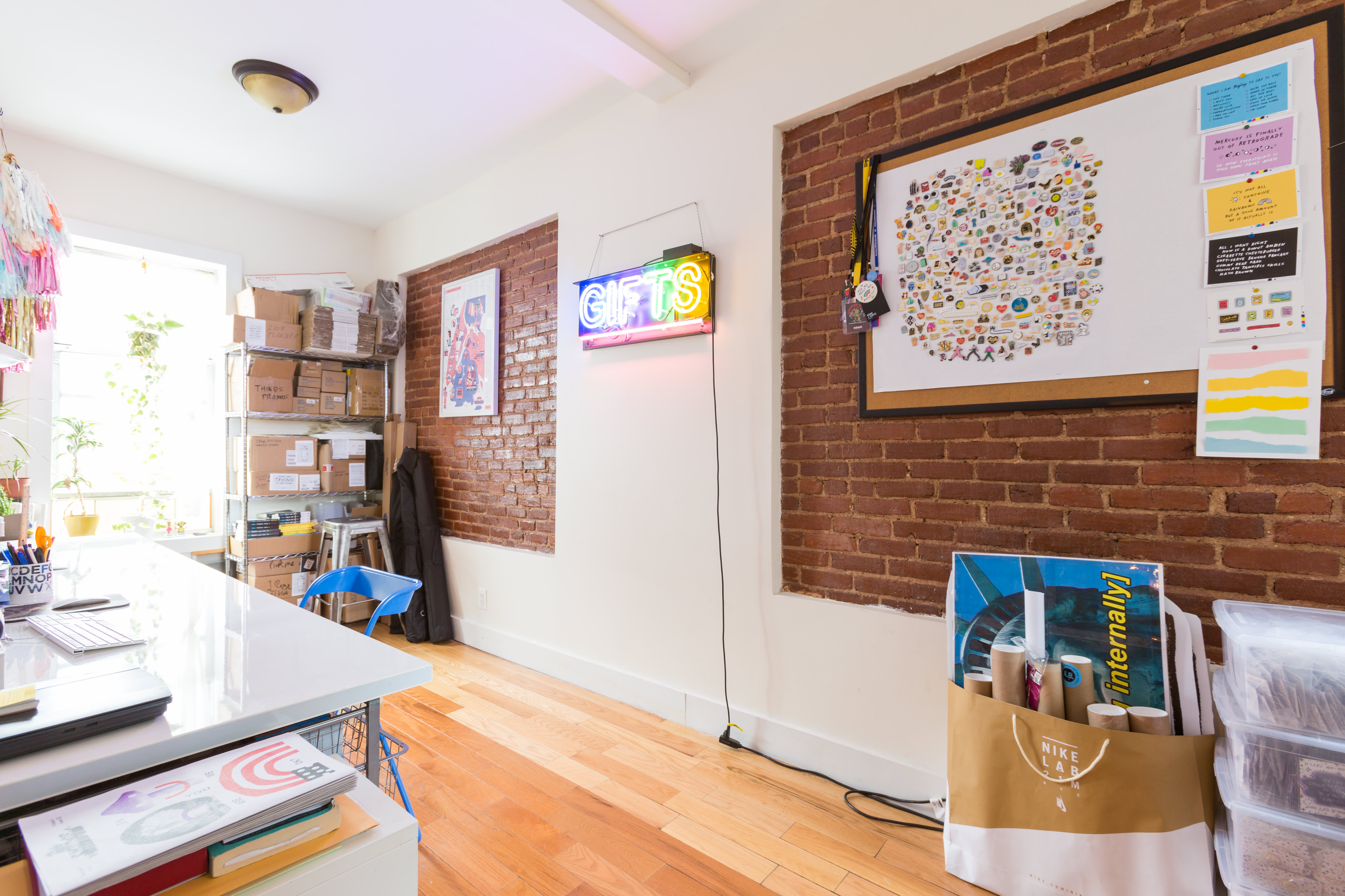 A Brooklyn-Based Artist's Home Is Awesomely Honest and