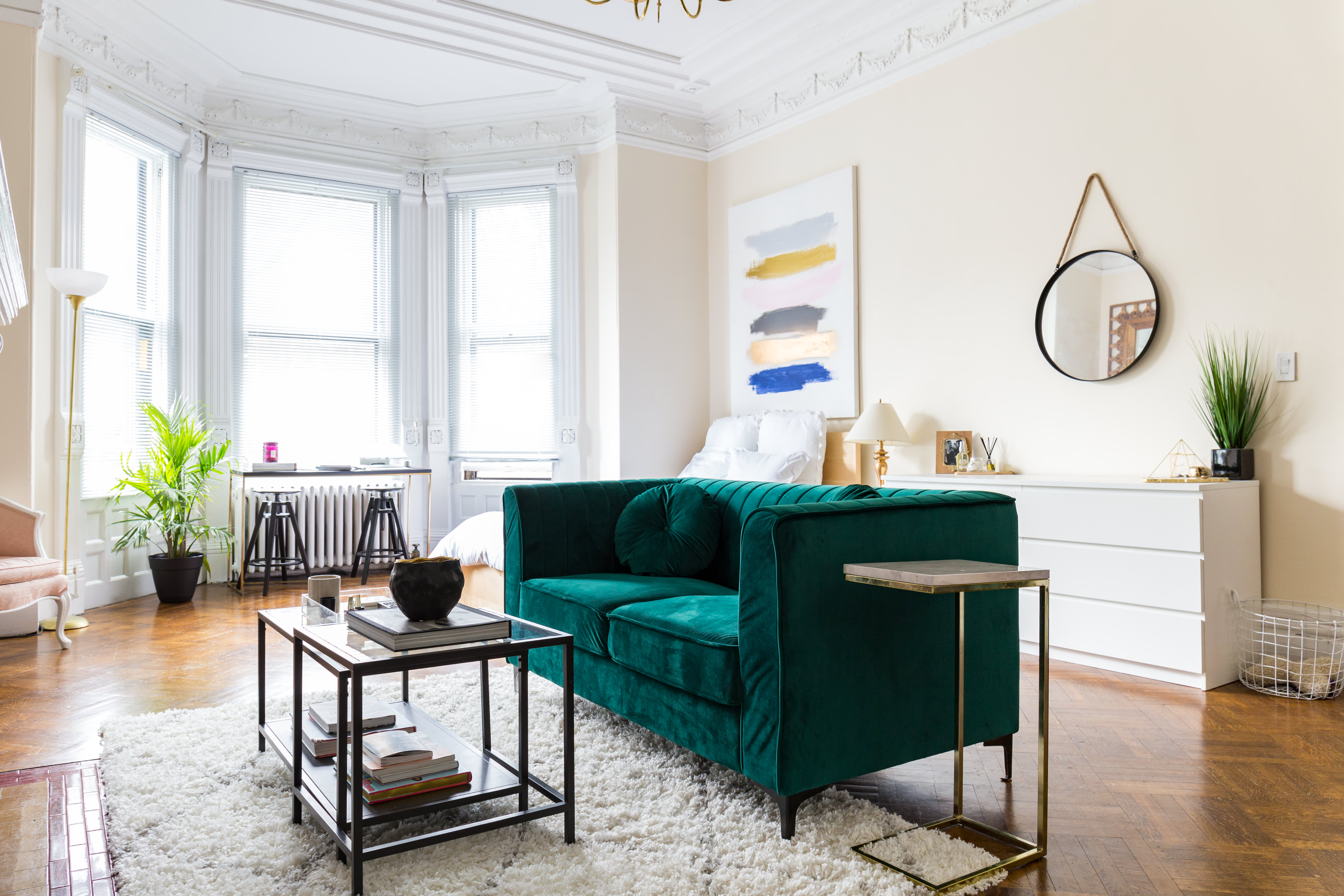 This 500 square foot boston studio apartment is incredibly - 500 square feet room ...