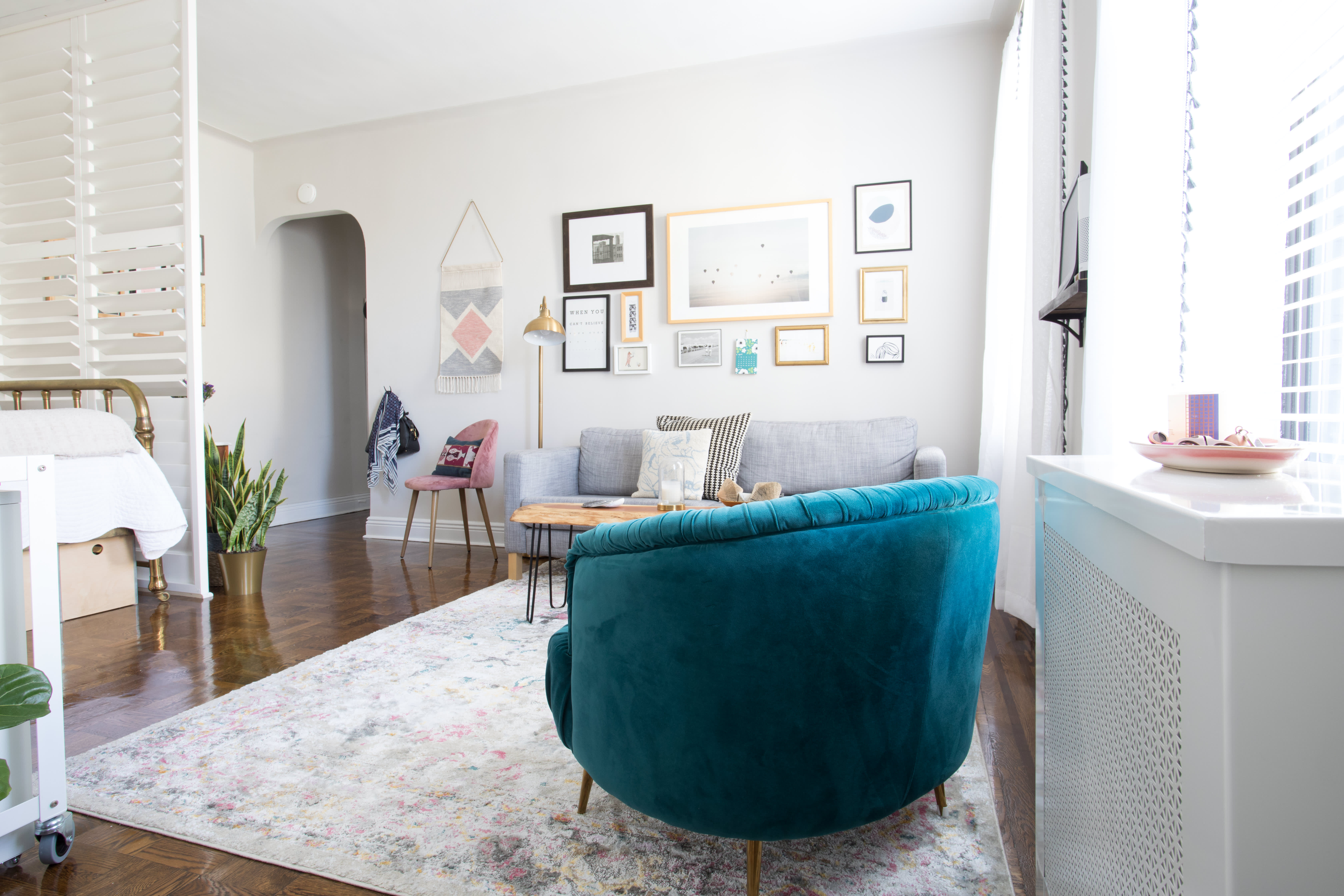 NYC Home Tour: A 500-Square-Foot Brooklyn Studio | Apartment