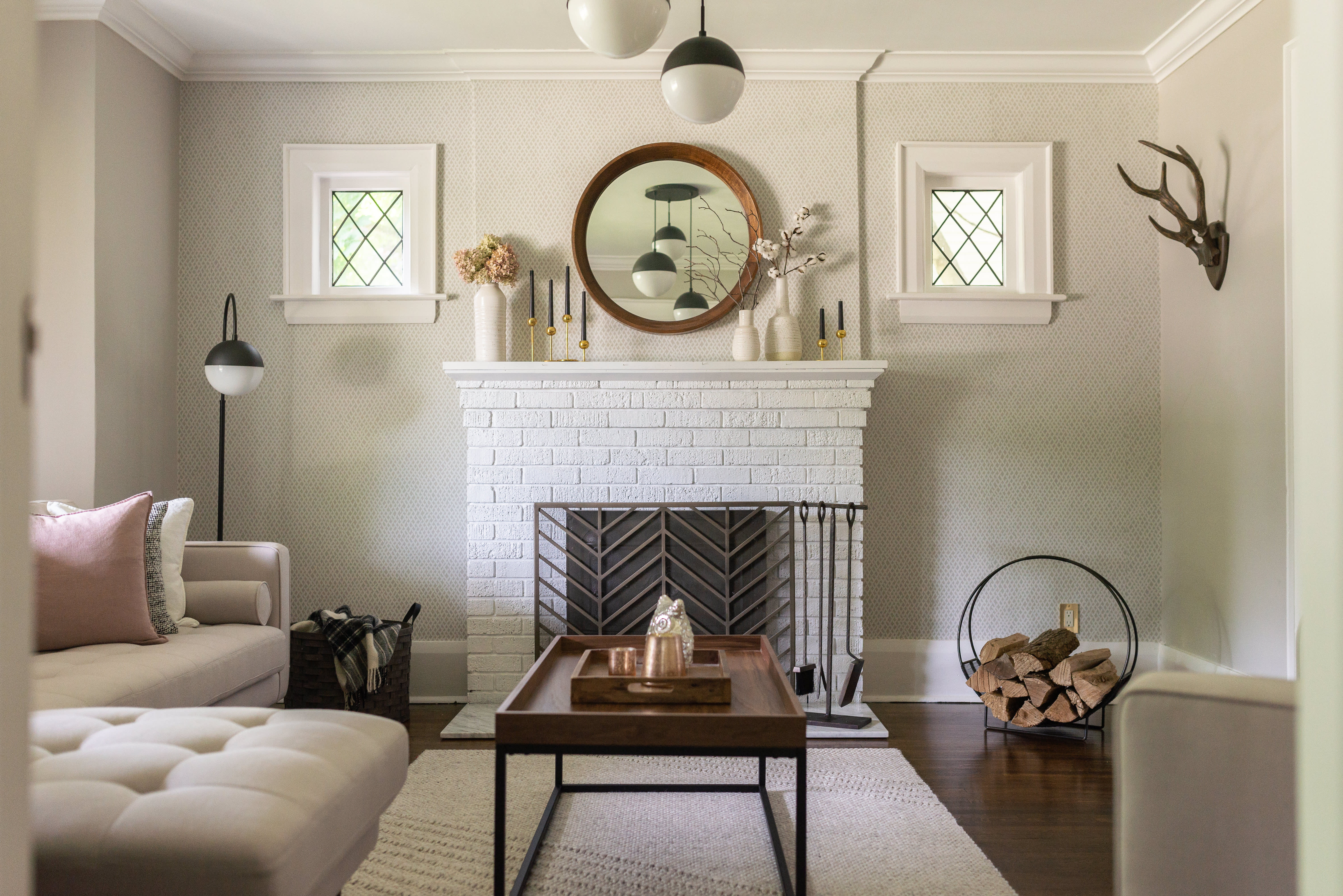 Hey Modest Marce's Minimal, Traditional Canadian Home