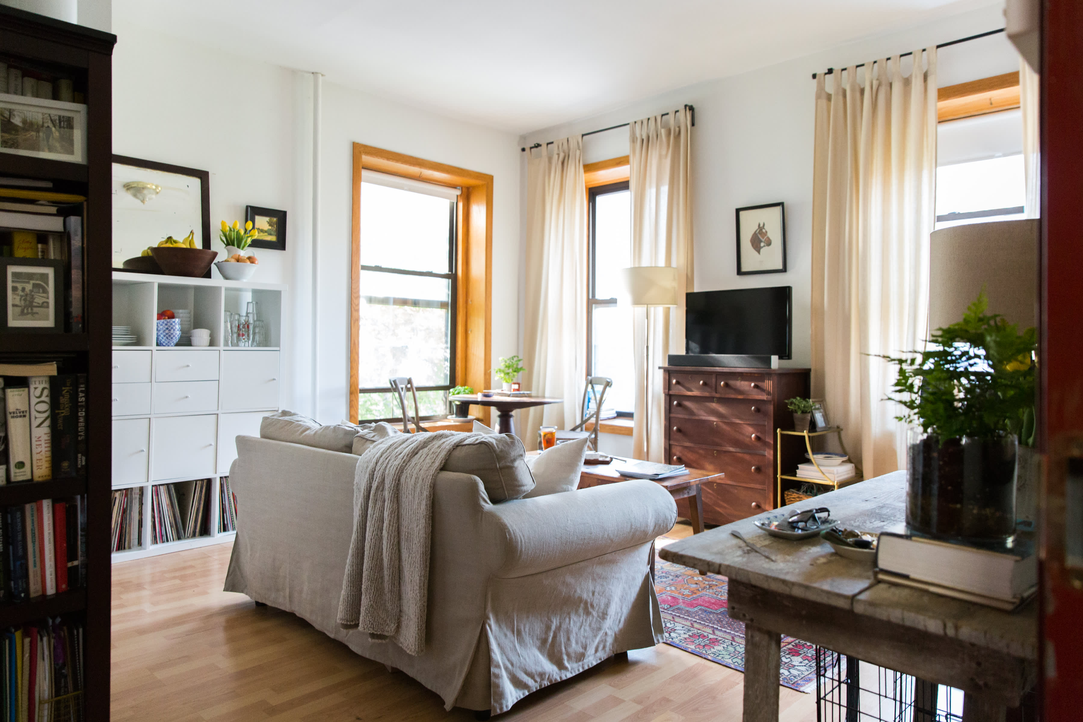 Small Space Storage Ideas from a Brooklyn Apartment ...