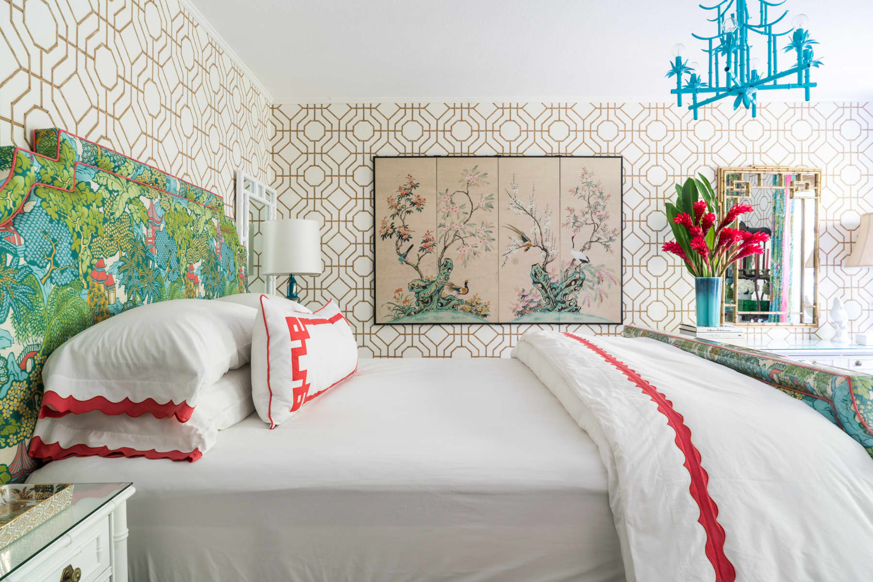 Los Angeles House Tour: A Colorful, Patterned Rental