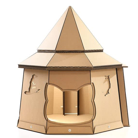 You Can Buy A Tiny Cardboard House For Your Cat | Apartment