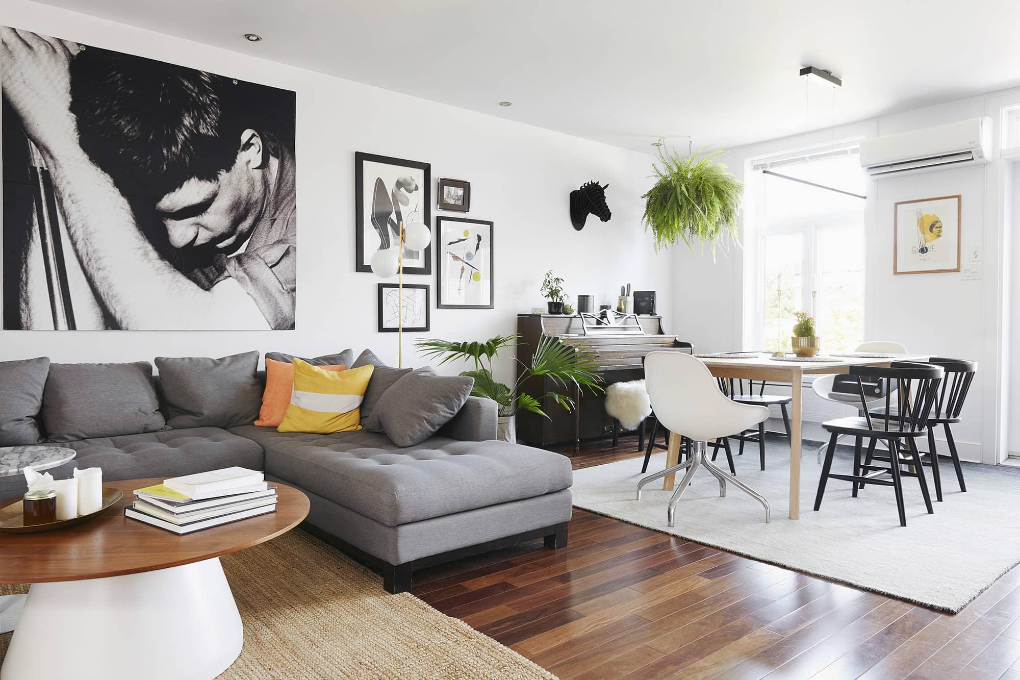 Minimal Modern Decor Ideas in a Montreal Apartment Tour ...