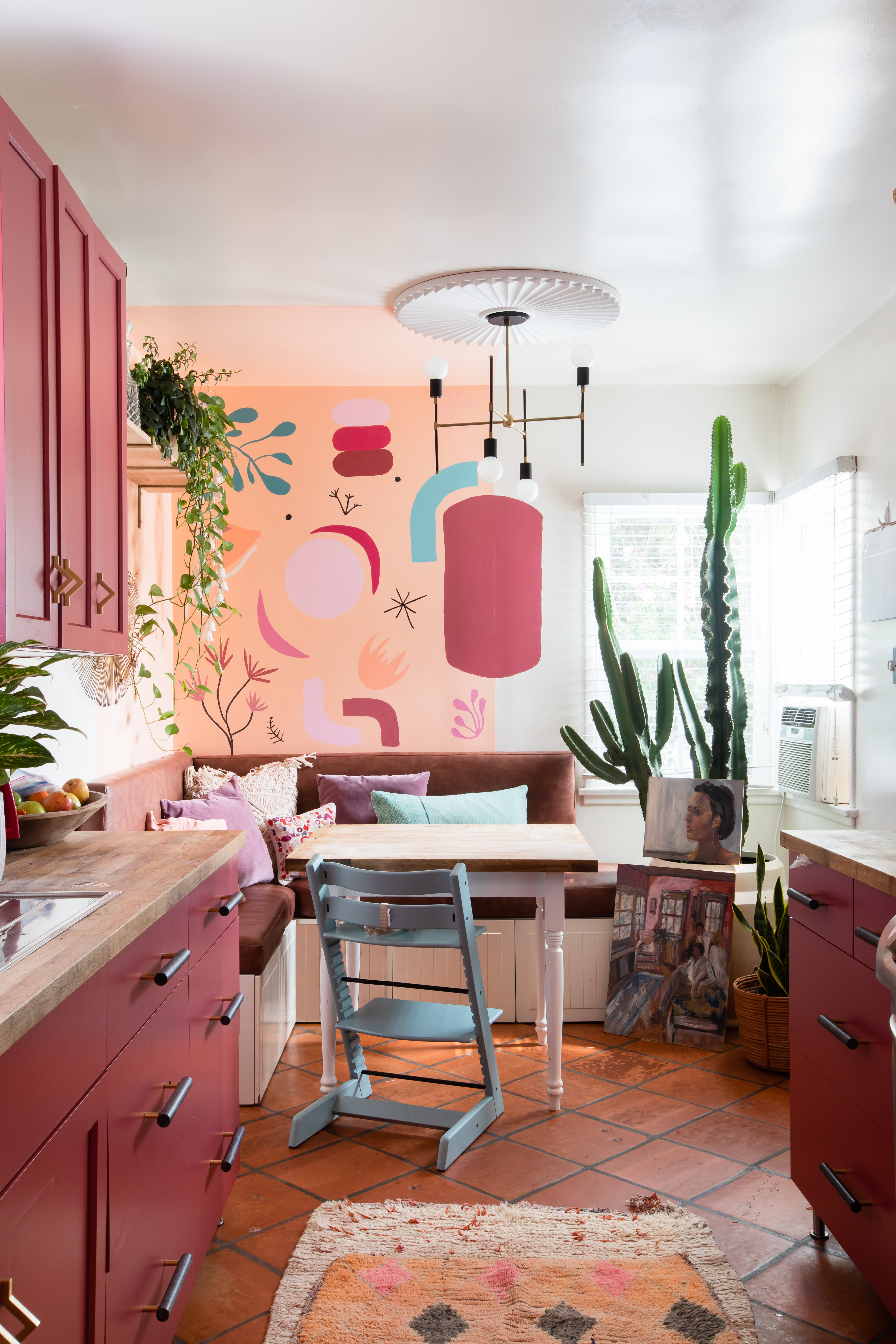 Maximalist Mural Filled California House Tour Apartment